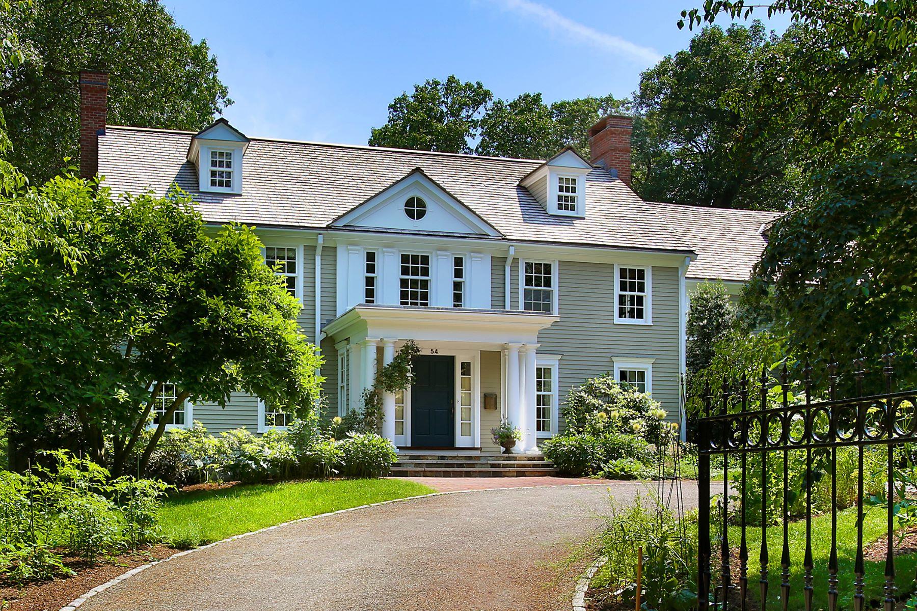Maison unifamiliale pour l Vente à Estate Minutes from Downtown Boston 54 Myopia Rd Winchester, Massachusetts, 01890 États-Unis