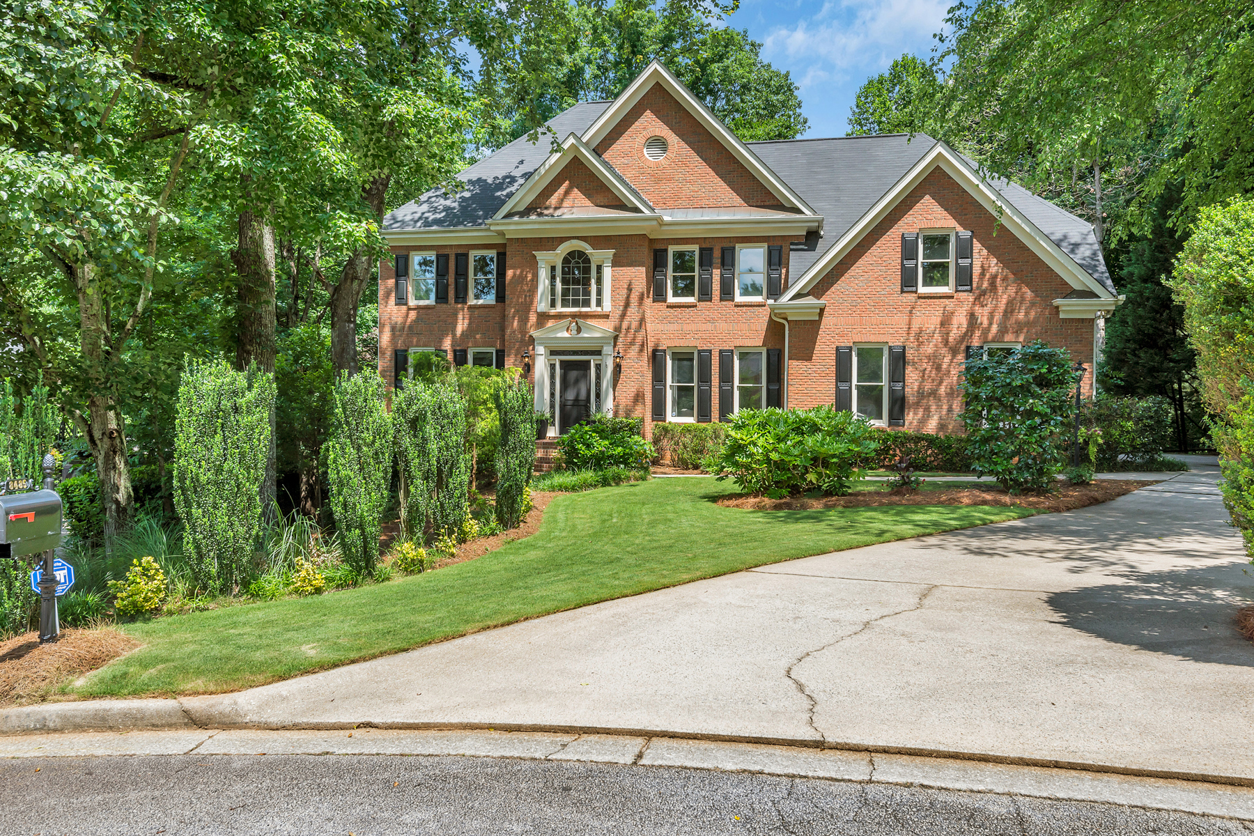 Single Family Home for Sale at Private Backyard Oasis 8485 Caney Creek Landing Alpharetta, Georgia 30005 United States