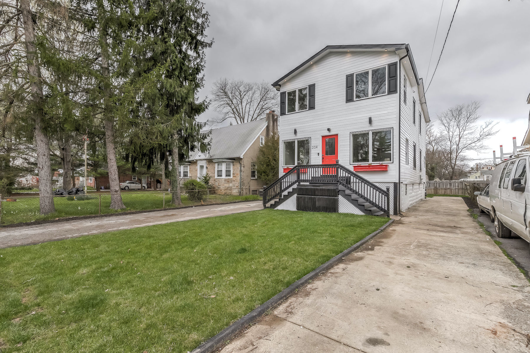 Single Family Homes for Sale at Beaming Light to the Neighborhood 204 West Slade Avenue Pikesville, Maryland 21208 United States