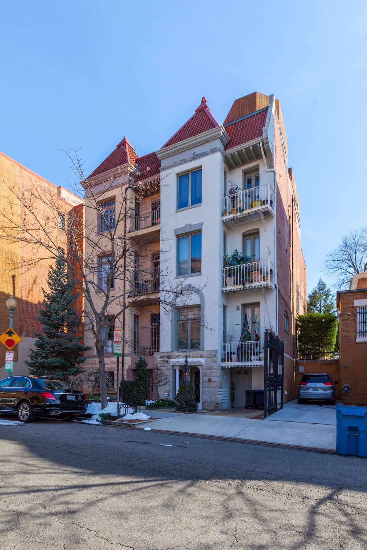 Townhouse for Sale at Kalorama 1827 Phelps Place Nw Washington, District Of Columbia, 20008 United States