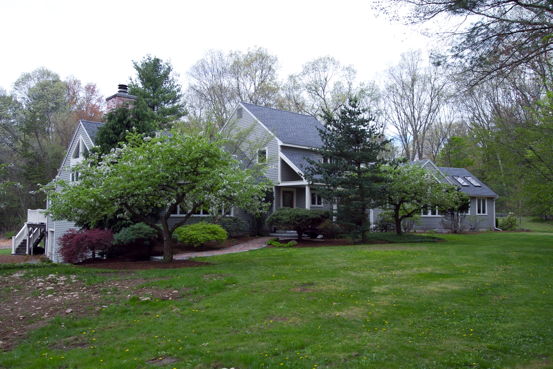 Single Family Home for Sale at Stunning Contemporary on Wooded Estate 137 South Street Holliston, 01746 United States