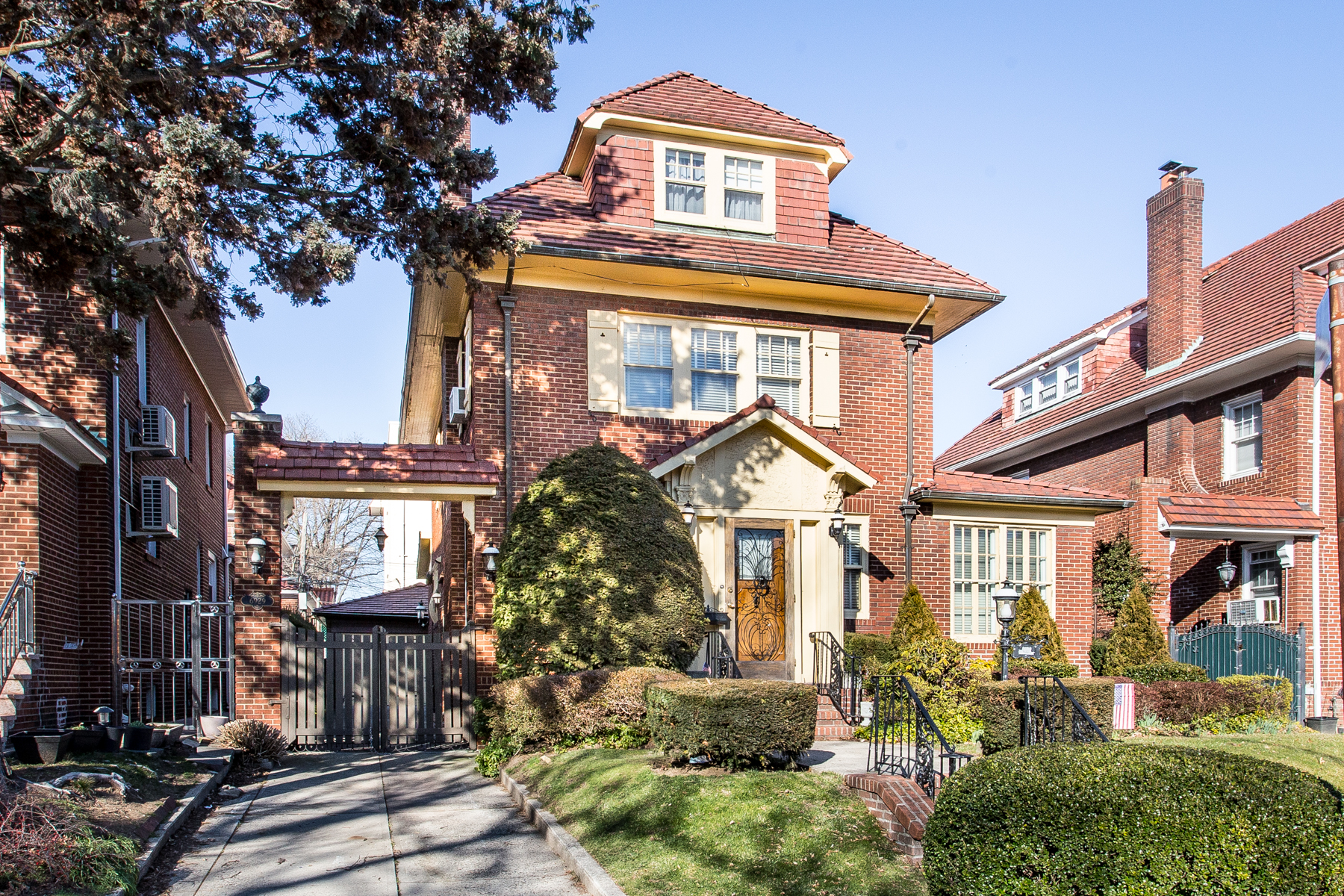 """Single Family Homes for Sale at """"DETACHED & READY FOR YOUR PERSONAL TOUCH"""" 69-29 Exeter Street, Forest Hills, New York 11375 United States"""