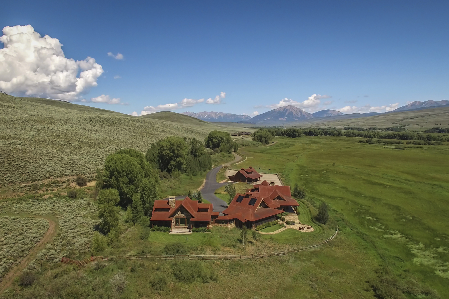 Single Family Homes for Active at The D-Bar Ranch is the ultimate legacy luxury estate. 800 Eagle Meadow Drive Gunnison, Colorado 81230 United States