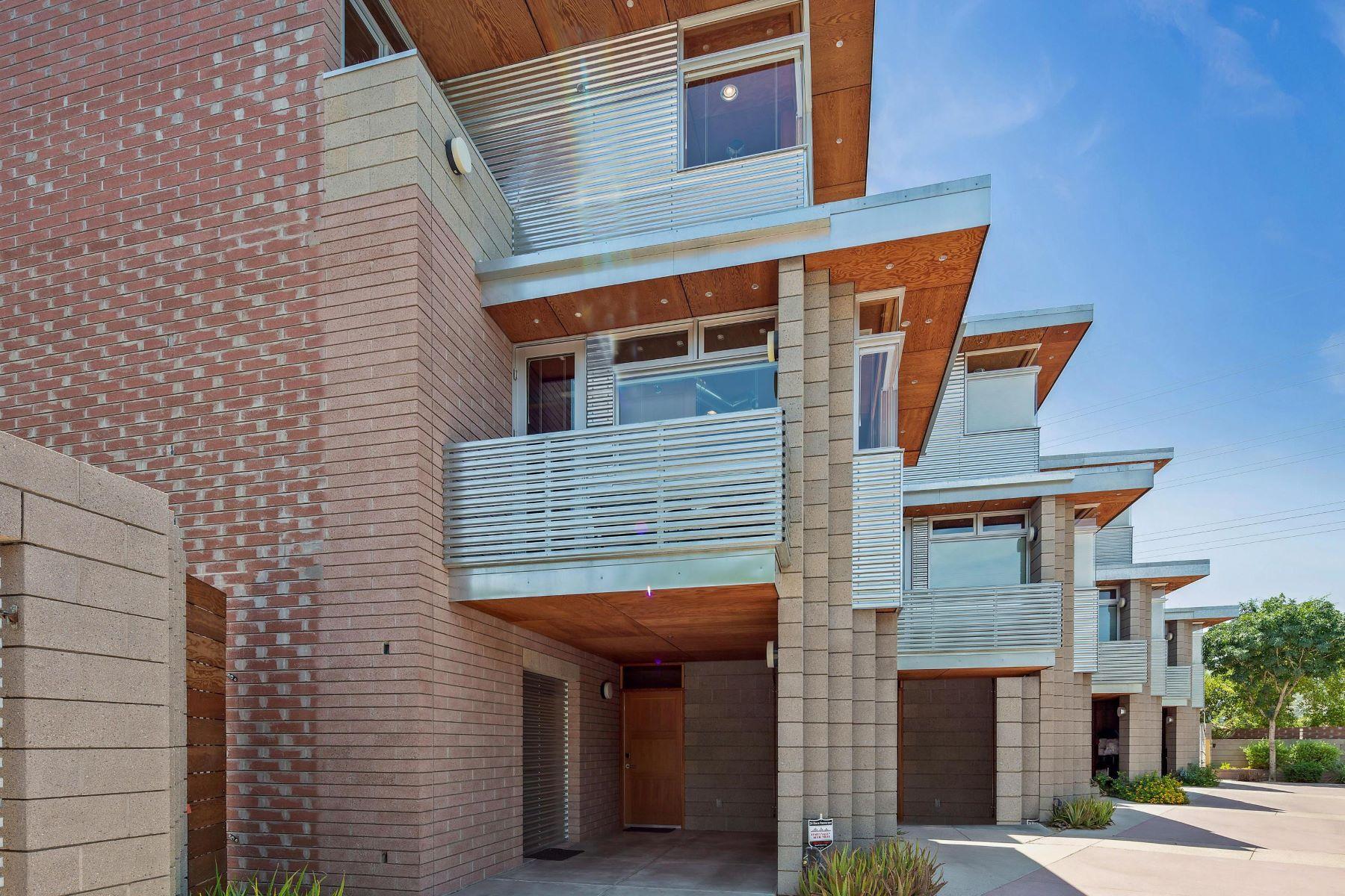 townhouses por un Venta en Sienna Court Lofts 930 S Ash Ave Tempe, Arizona 85281 Estados Unidos