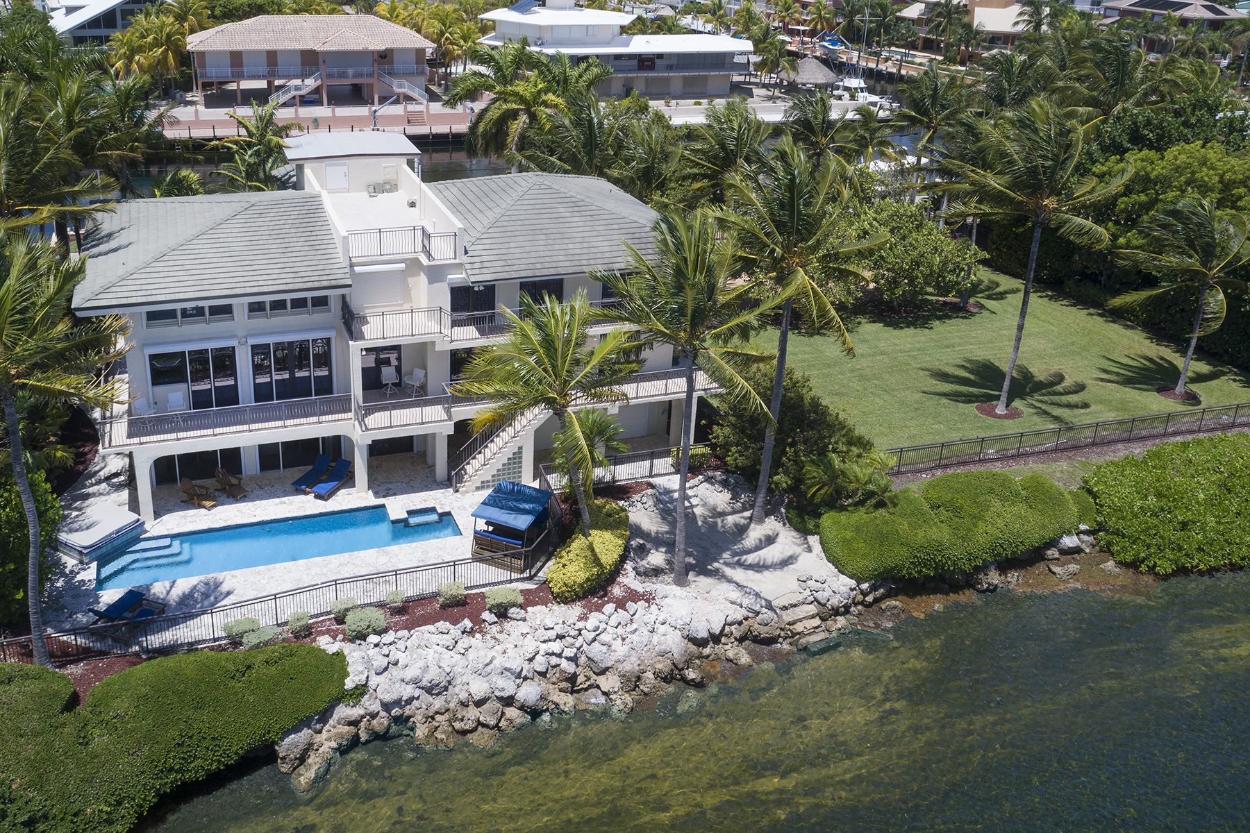 Single Family Home for Sale at Exclusive Ocean Cay Home 543-544 Ocean Cay Key Largo, Florida 33037 United States