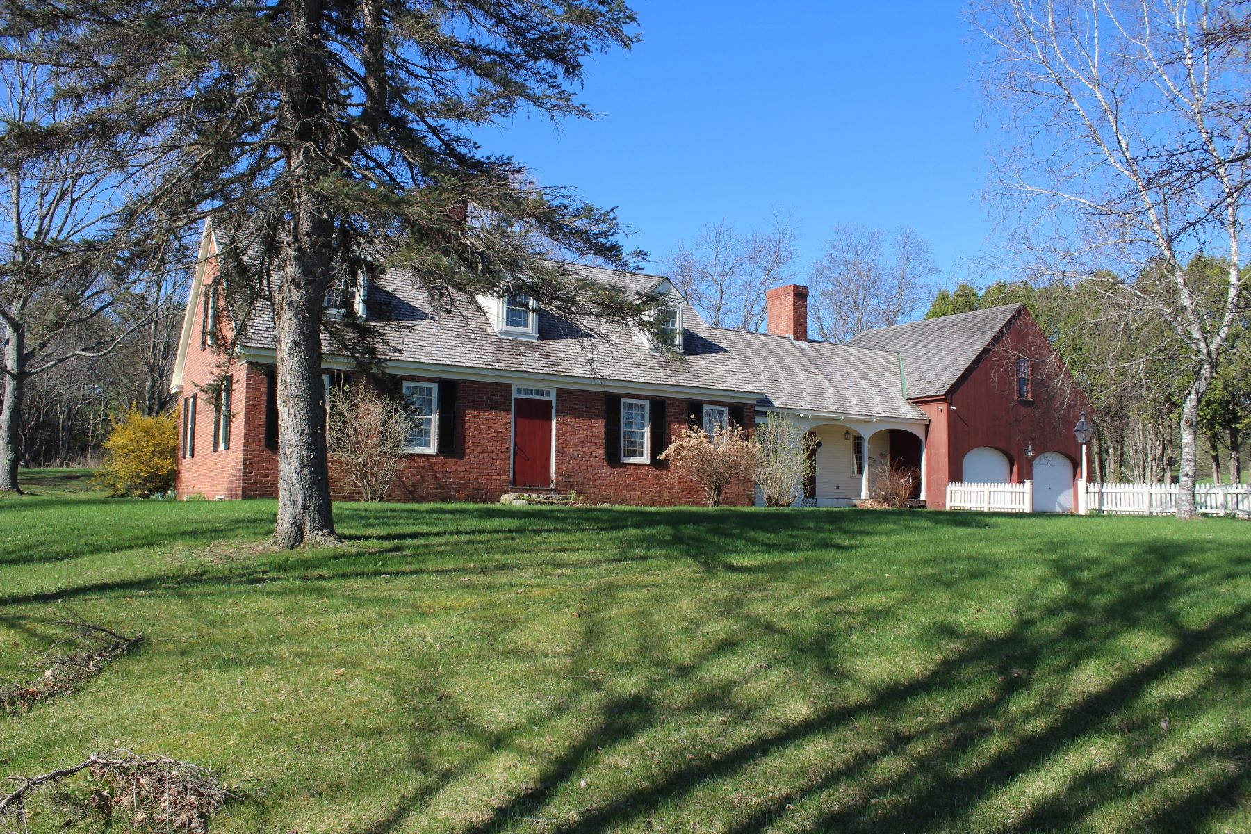 Single Family Home for Sale at Period Reproduction Farmhouse 764 Us Rt 2b St. Johnsbury, Vermont 05819 United States