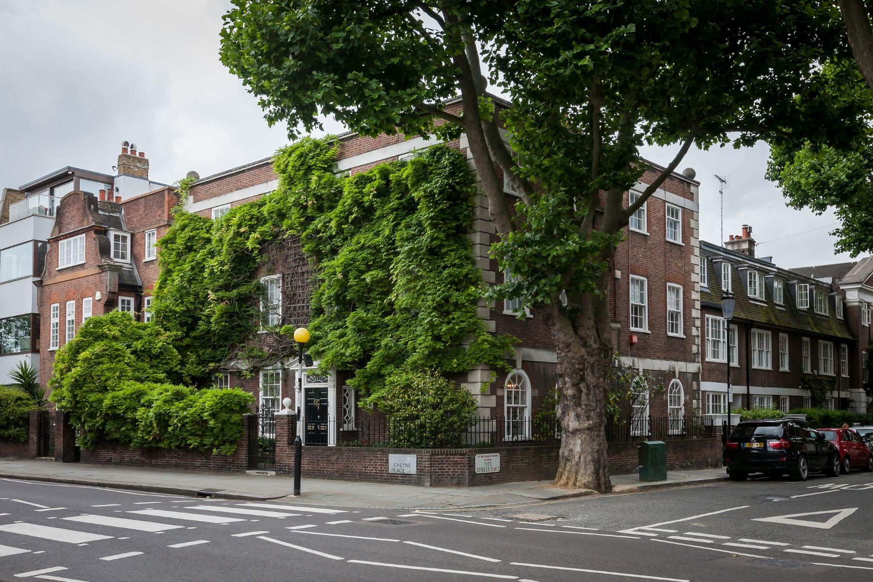 Casa Unifamiliar por un Alquiler en Cheyne Place, Chelsea, SW3 London, Inglaterra, Reino Unido