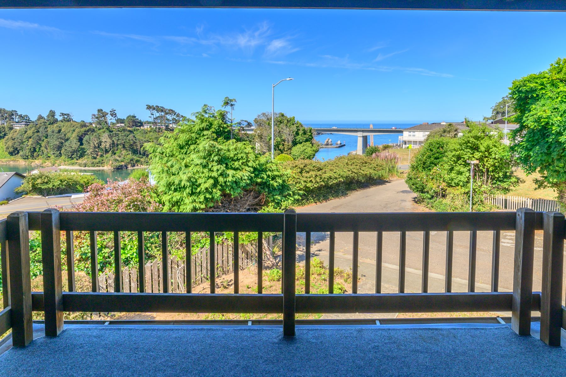 Single Family Homes for Sale at Ocean and River View Gem 890 Woodward Street Fort Bragg, California 95437 United States