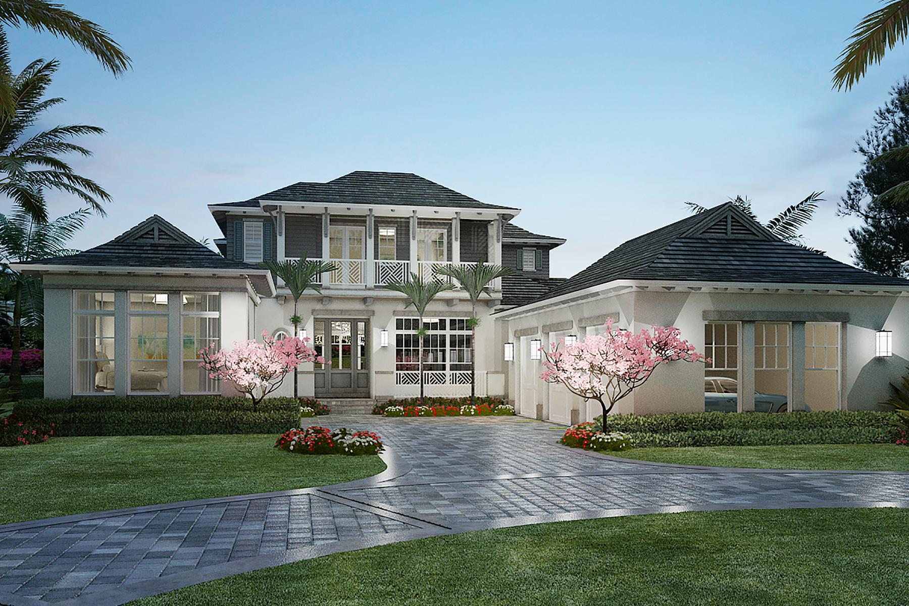 Single Family Homes 용 매매 에 PORT ROYAL 3530 Fort Charles Drive, 나폴리, 플로리다 34102 미국