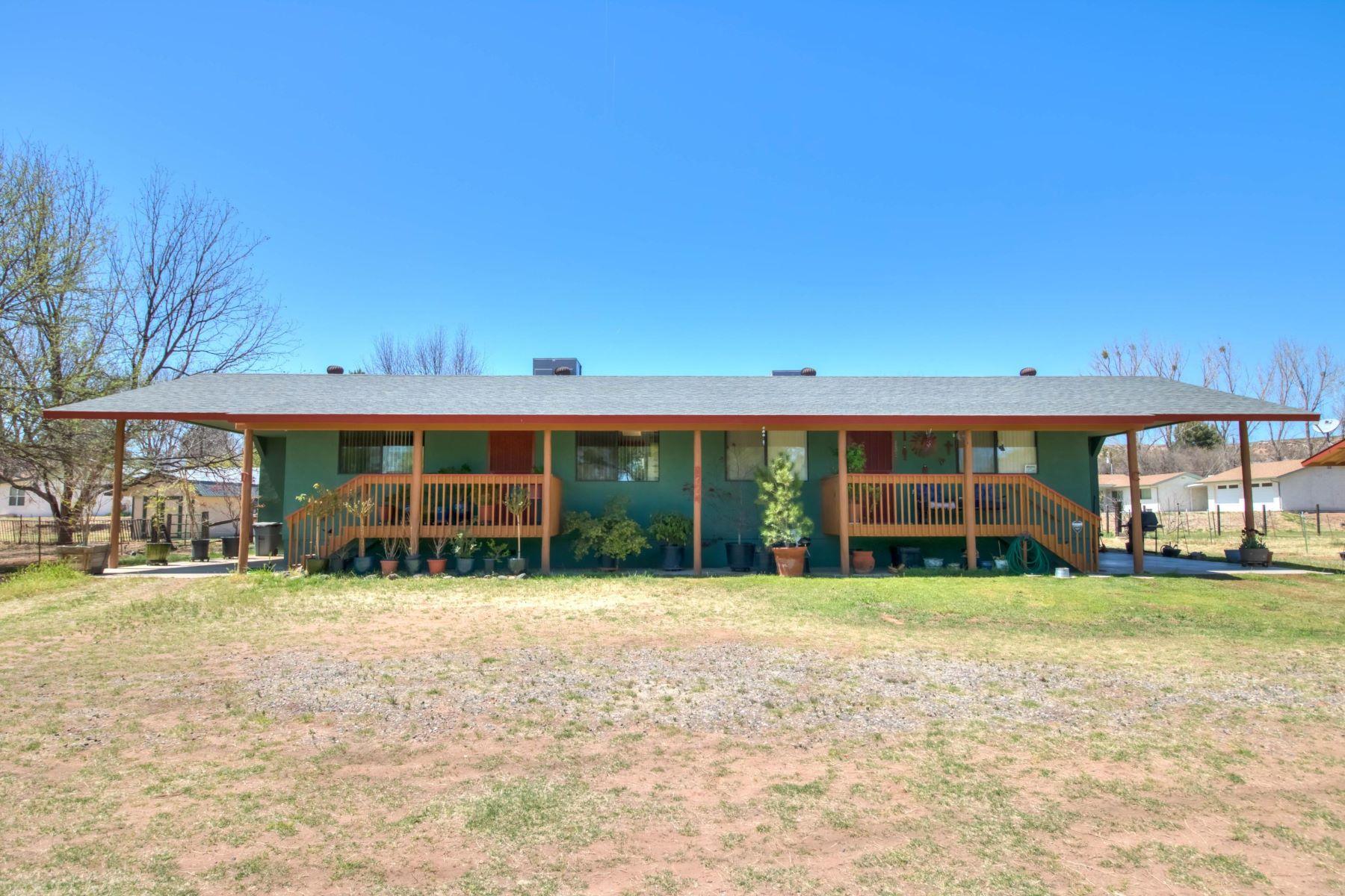 single family homes for Active at 2 duplexes in Cornville 9774 E Cornville Rd Cornville, Arizona 86325 United States