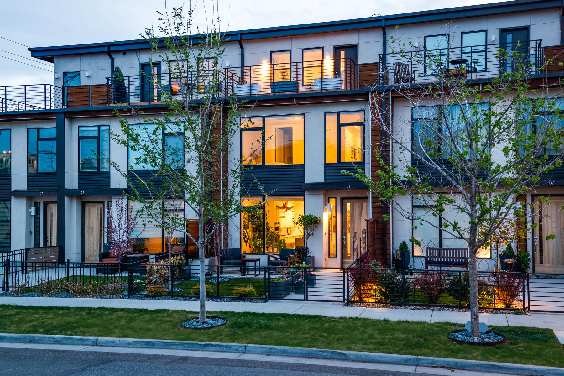 townhouses por un Venta en 71 South Jackson Street Denver, Colorado 80209 Estados Unidos