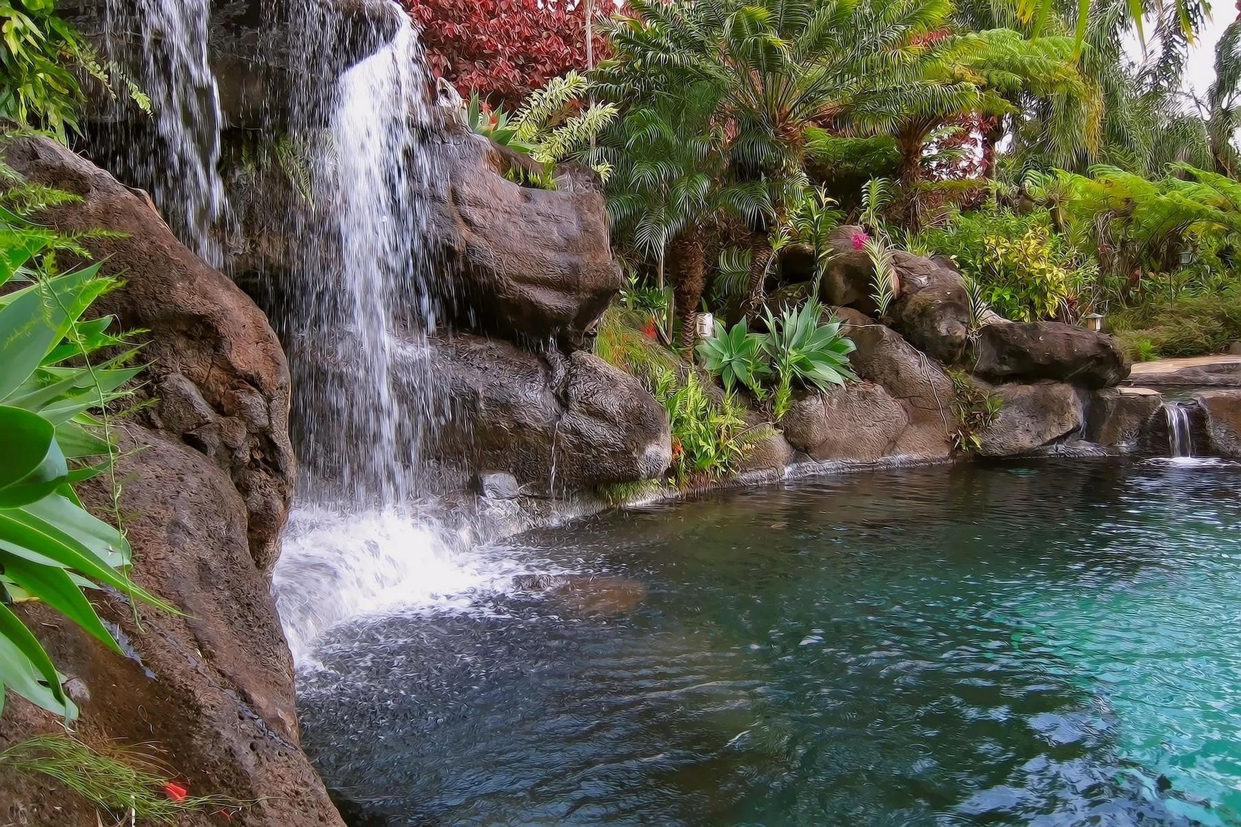獨棟家庭住宅 為 出售 在 12.4 Acre Haiku Oasis with Ocean Views of Peahi 110 Mehana Rd Haiku, 夏威夷 96708 美國