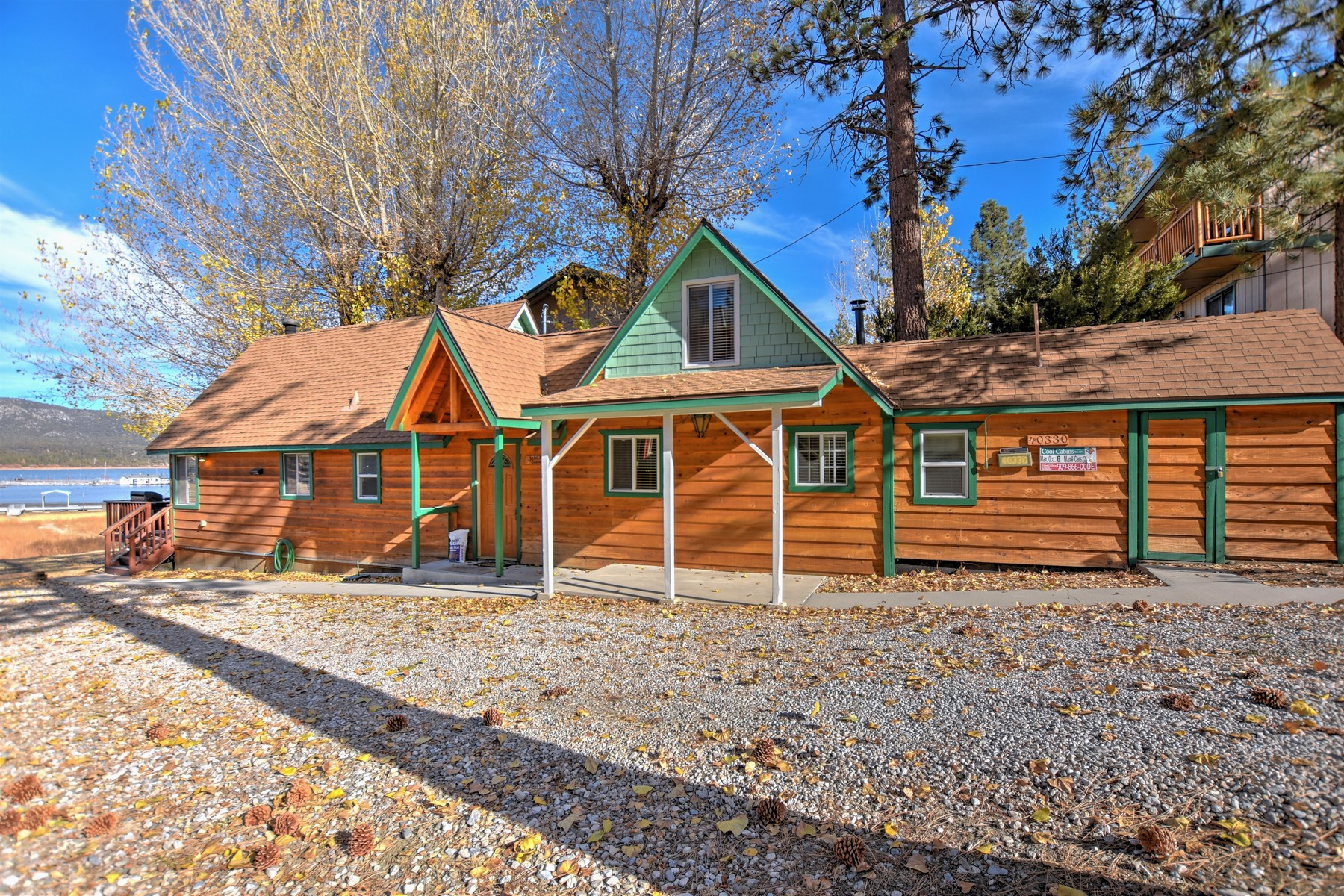 Single Family Home for Sale at 40330 Lakeview Drive, Big Bear Lake, CA 92315 Big Bear Lake, California 92315 United States