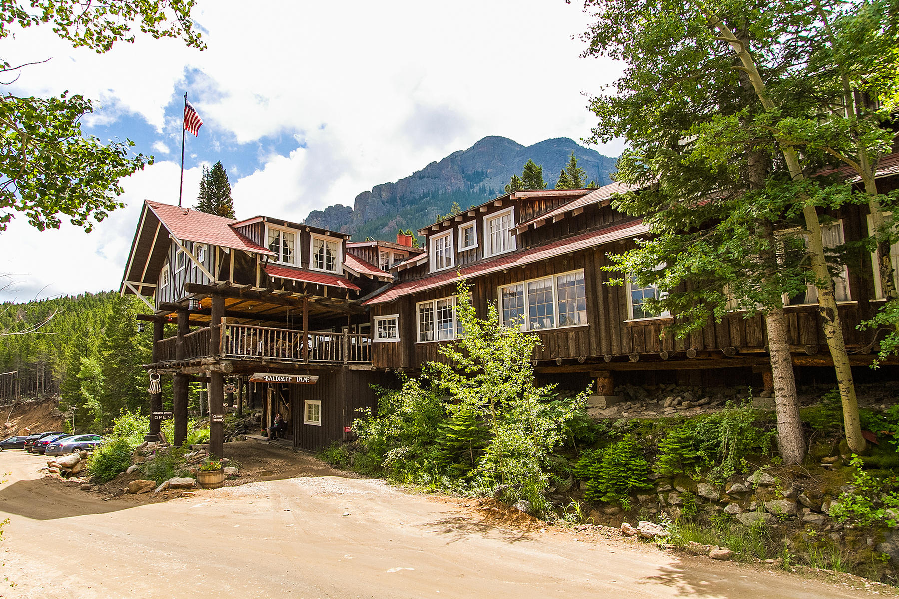Single Family Homes por un Venta en The Baldpate Inn 4900 Highway 7, Estes Park, Colorado 80517 Estados Unidos