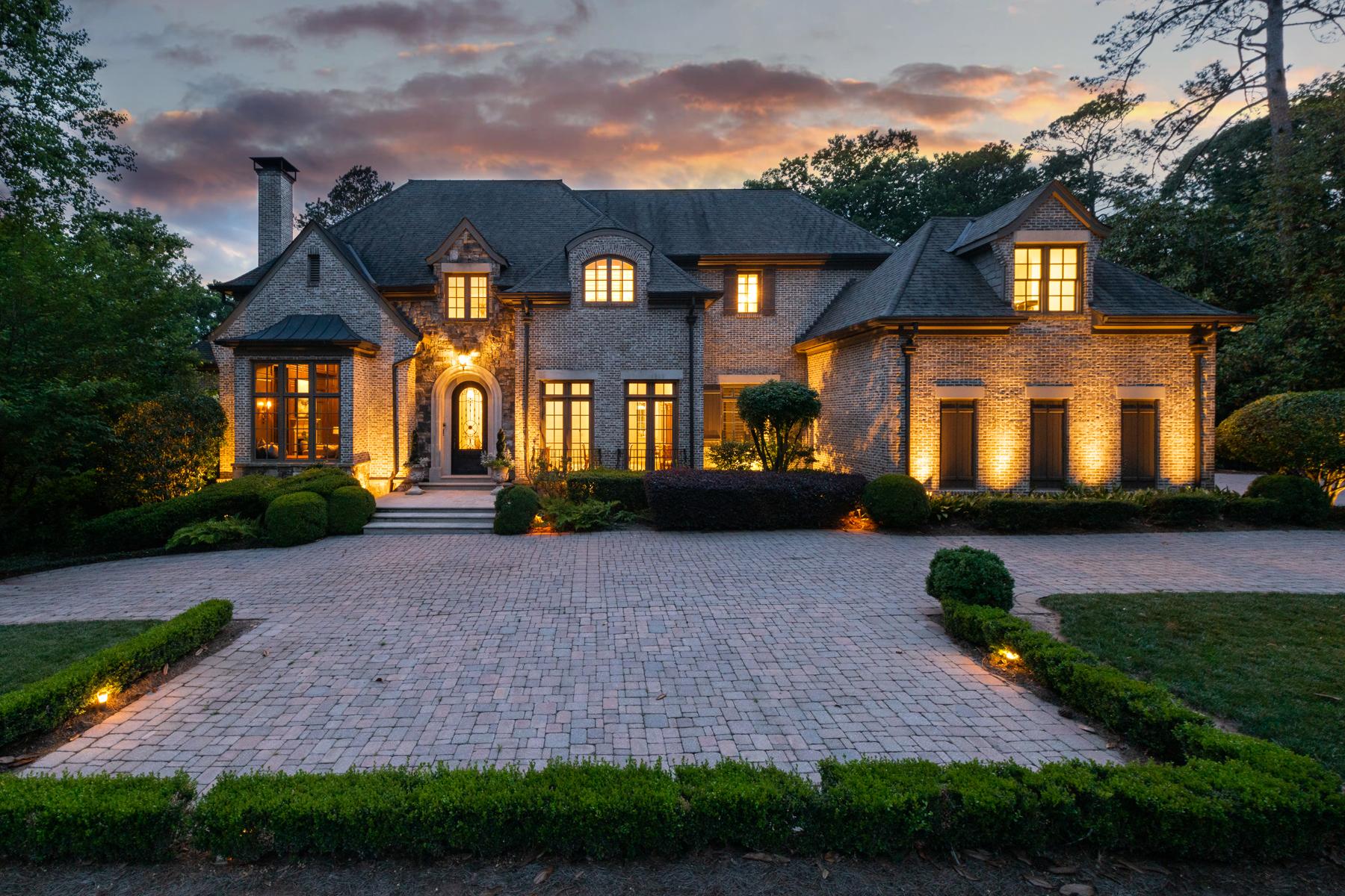 Property for Sale at Sophisticated Elegance 4076 Glen Devon Drive NW Atlanta, Georgia 30327 United States