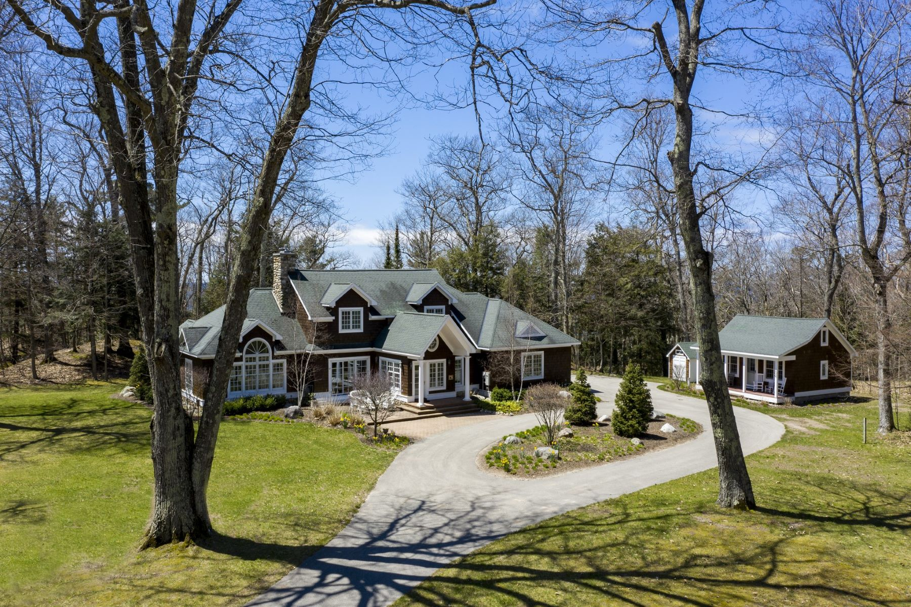 Single Family Homes for Sale at Spectacular Harbor Springs Home 4688 Lower Shore Drive Harbor Springs, Michigan 49740 United States