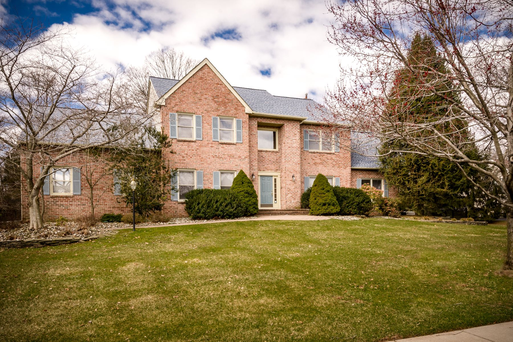 Single Family Home for Sale at The Warmth and Comfort Of A Traditional Floor Plan 24 Lowry Court, Skillman, New Jersey, 08558 United StatesIn/Around: Montgomery Township
