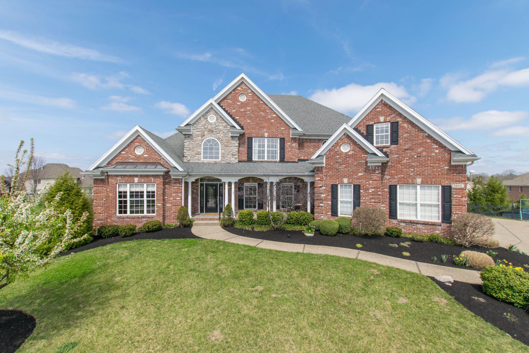 Vivienda unifamiliar por un Venta en 2900 Circle Crest Court Prospect, Kentucky, 40059 Estados Unidos