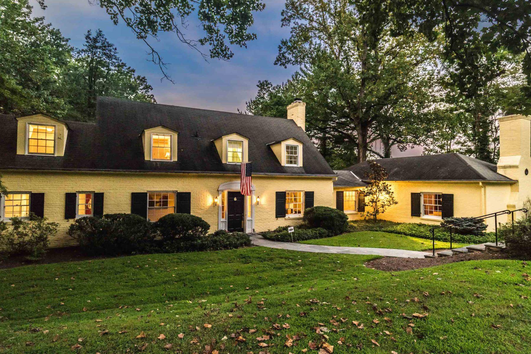 Single Family Homes por un Venta en Greenspring Valley 222 Hopkins Lane Owings Mills, Maryland 21117 Estados Unidos