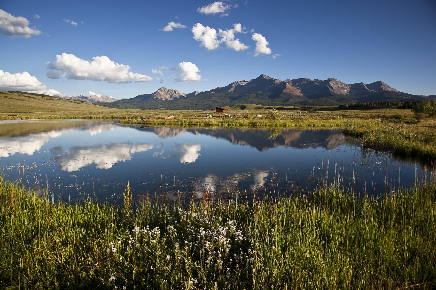 Granjas / Hacienda / Platanción por un Venta en Berman Buckskin Ranch 1035 Anderson Road Telluride, Colorado, 81435 Estados Unidos