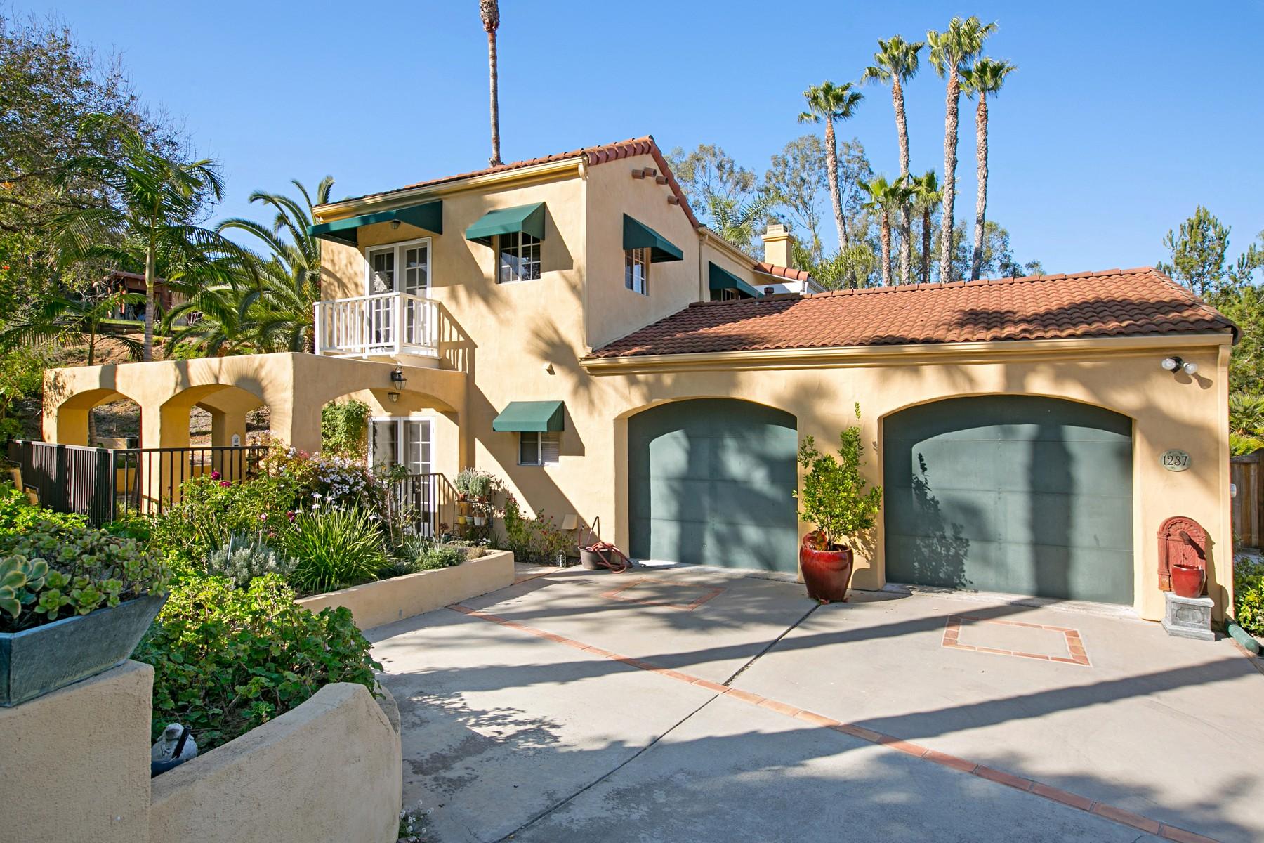 一戸建て のために 売買 アット 1237 Crest Drive Encinitas, カリフォルニア, 92024 アメリカ合衆国
