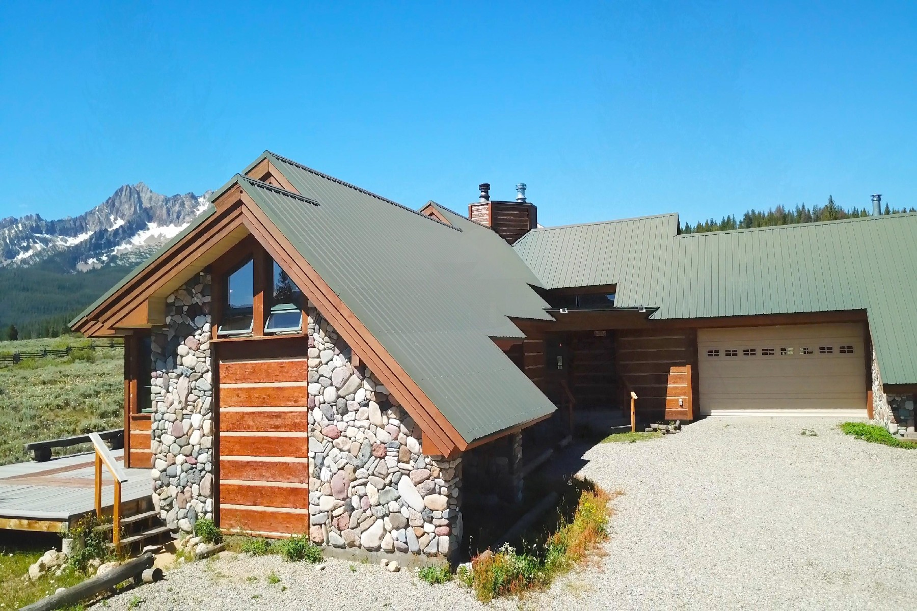 Single Family Home for Active at Spectacular Sawtooth Home 475 Goat Creek Way Stanley, Idaho 83278 United States