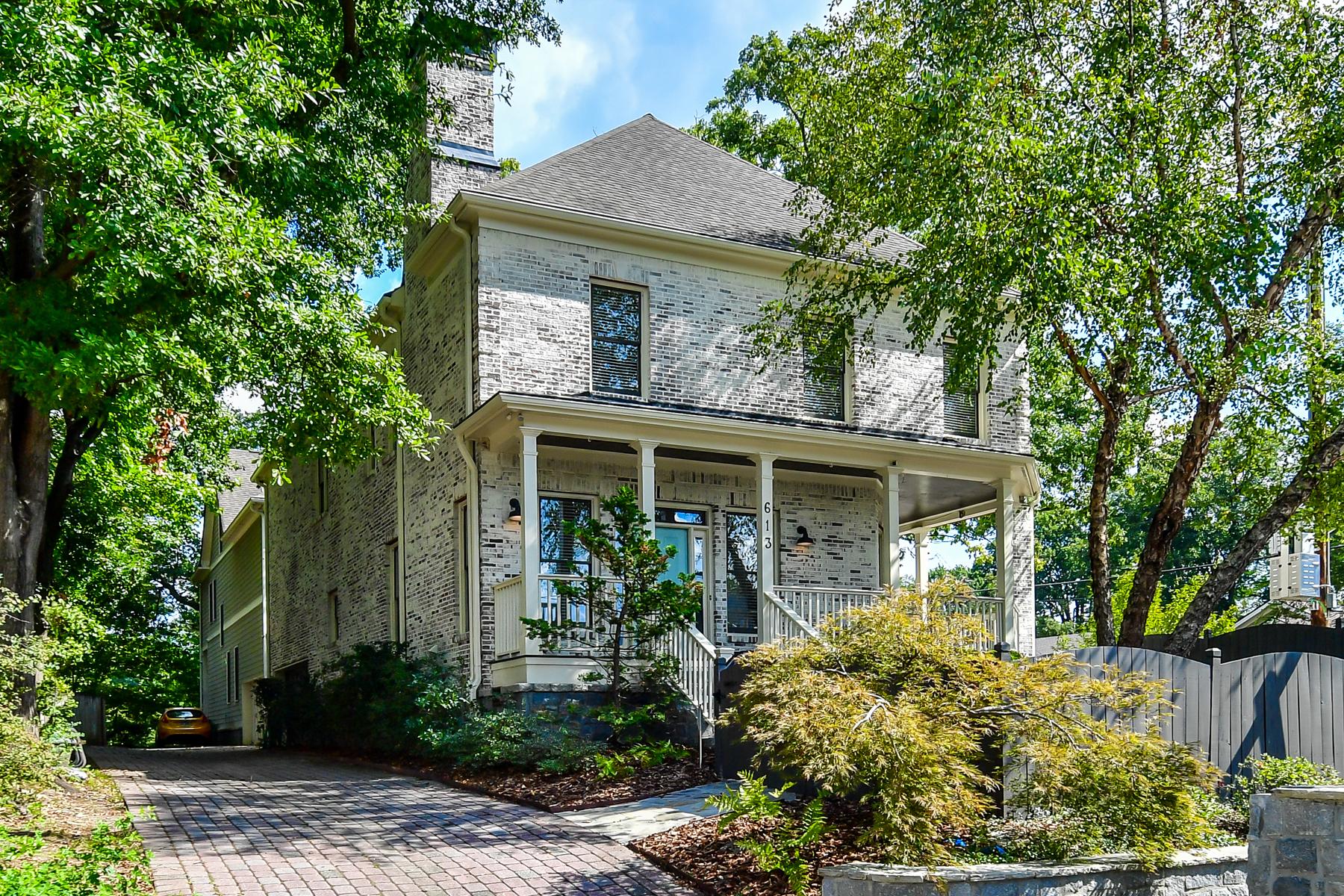 Single Family Home for Sale at Luxury Defined In Poncey Highlands 613 Bonaventure Avenue NE Atlanta, Georgia 30306 United States
