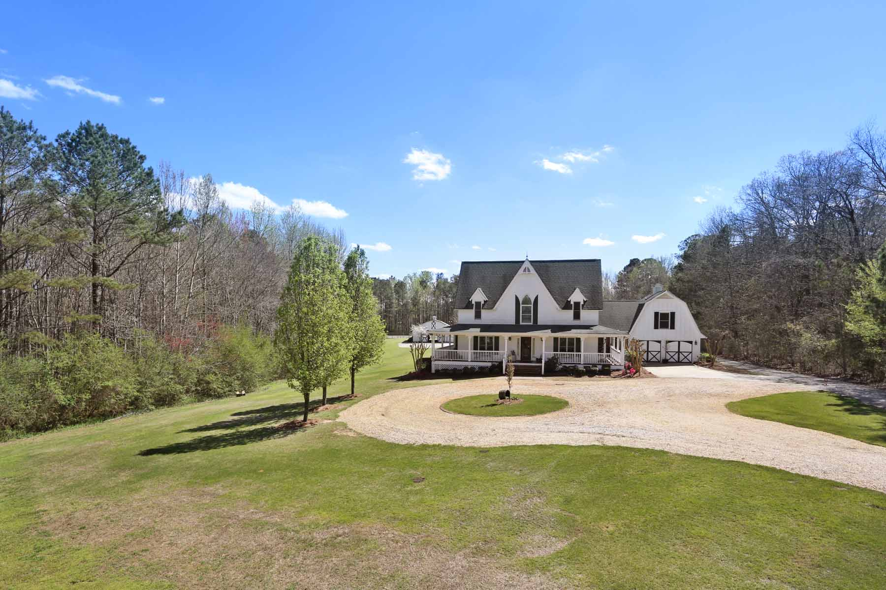Vivienda unifamiliar por un Venta en West Georgia Private Equestrian Estate 105 Fuller Dr Carrollton, Georgia 30117 Estados Unidos