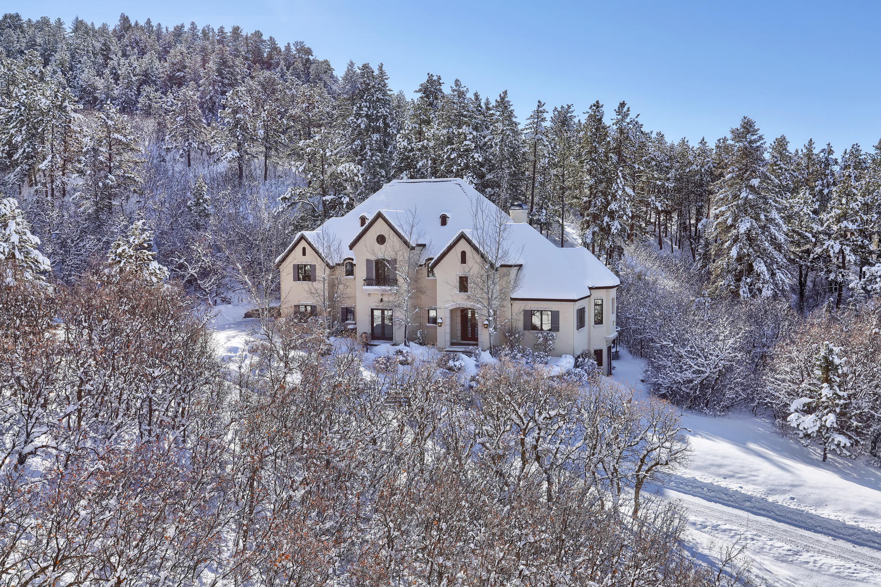 Property のために 売買 アット Timeless European-Inspired Luxury Living 1043 Meteor Place, Castle Rock, コロラド 80108 アメリカ