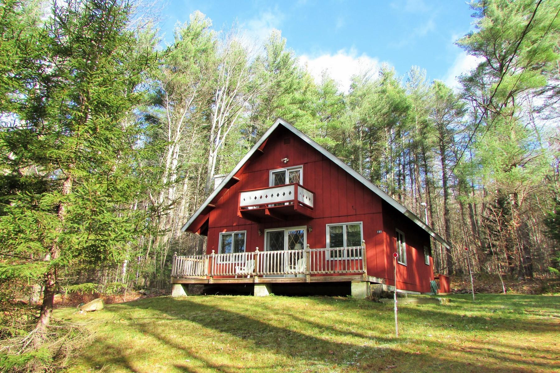 Частный односемейный дом для того Продажа на Snow Mountain Farms Chalet 180 Debbie Higgins Ln Wardsboro, Вермонт 05355 Соединенные Штаты