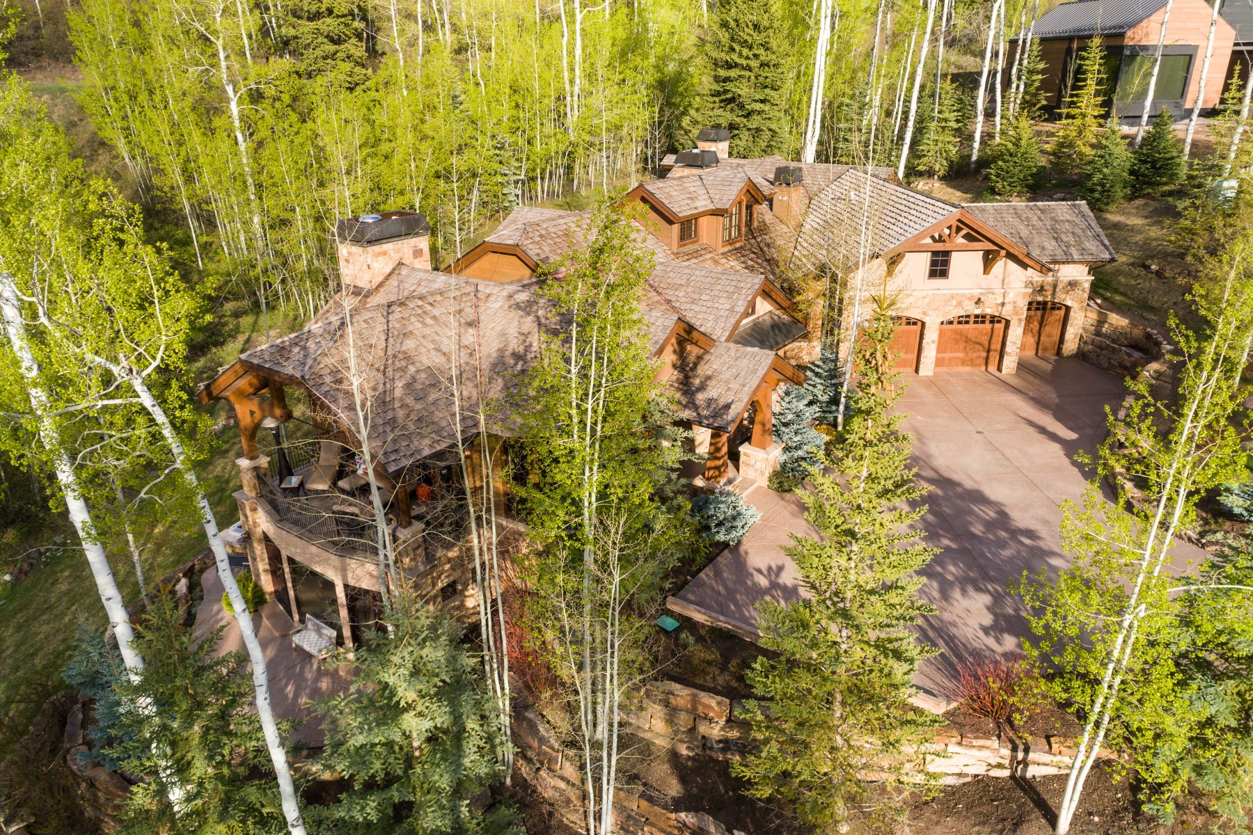 Single Family Homes para Venda às Privacy in The Pines 522 Pine Crest Drive, Snowmass Village, Colorado 81615 Estados Unidos