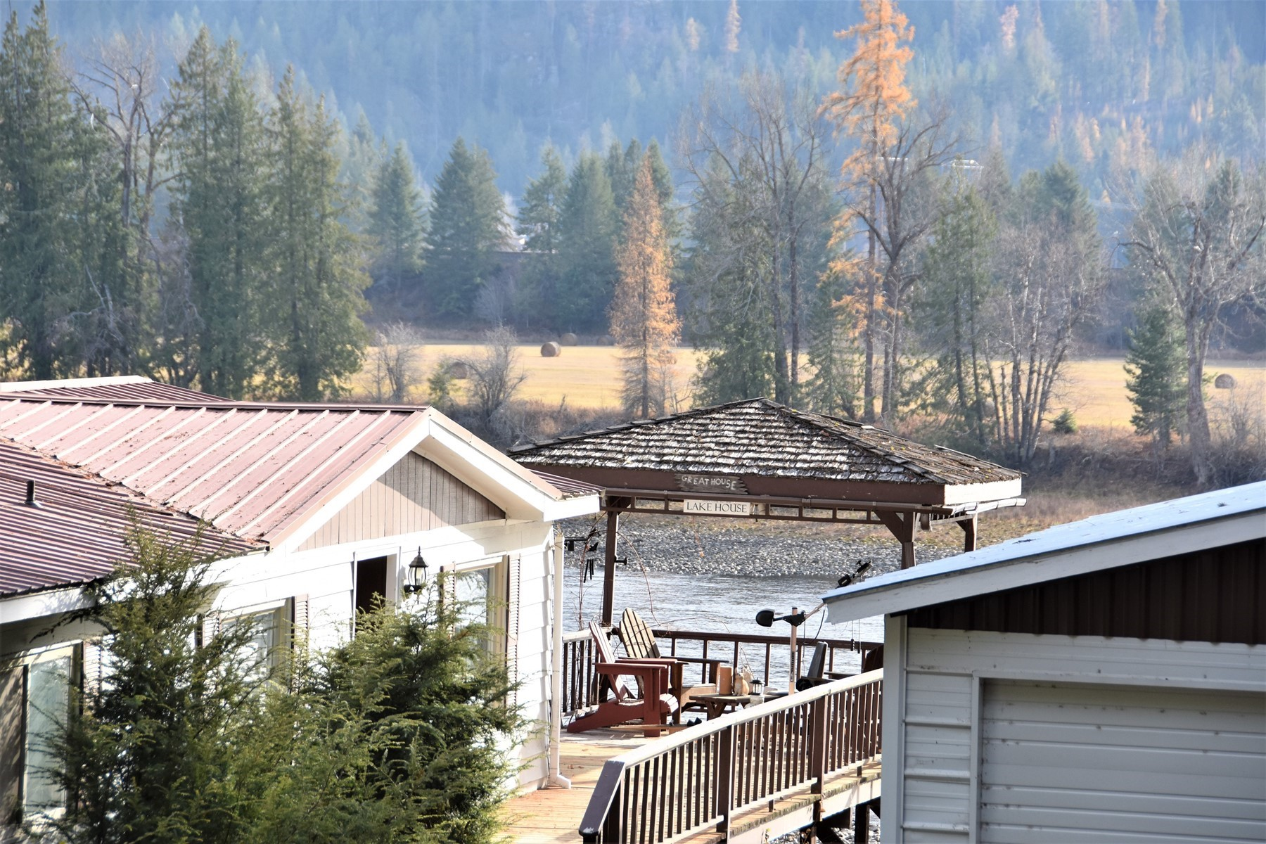 Single Family Homes for Sale at River Road Waterfront 680 River Drive Clark Fork, Idaho 83811 United States