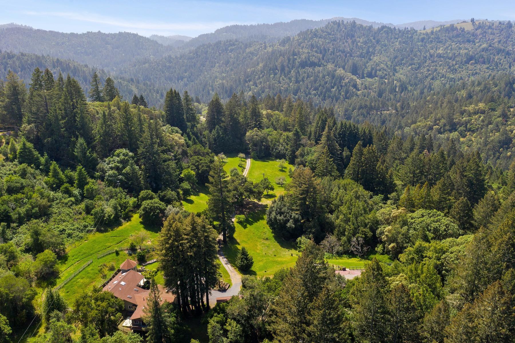 Single Family Homes para Venda às Healdsburg Shangri-La 7559 Mill Creek, Healdsburg, Califórnia 95548 Estados Unidos