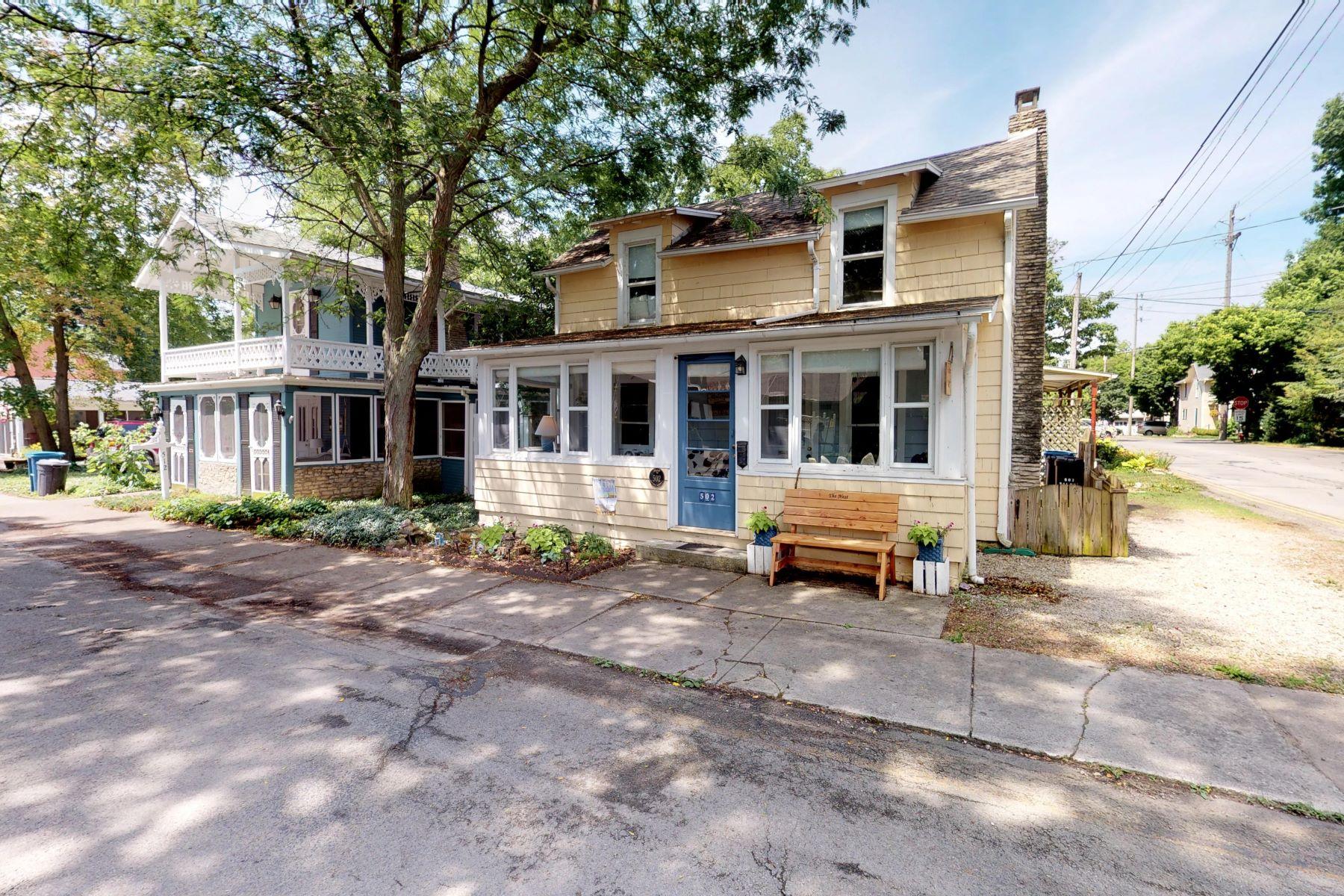 Single Family Homes for Sale at 502 Walnut Avenue Lakeside, Ohio 43440 United States