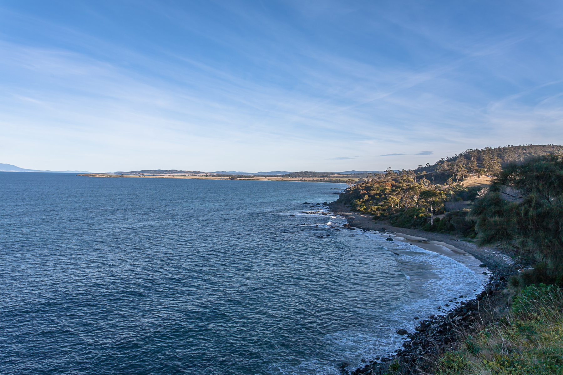 için Satış at Rare opportunity for development on Tasmania's East Coast Rocky Hills, Tasmania, Avustralya