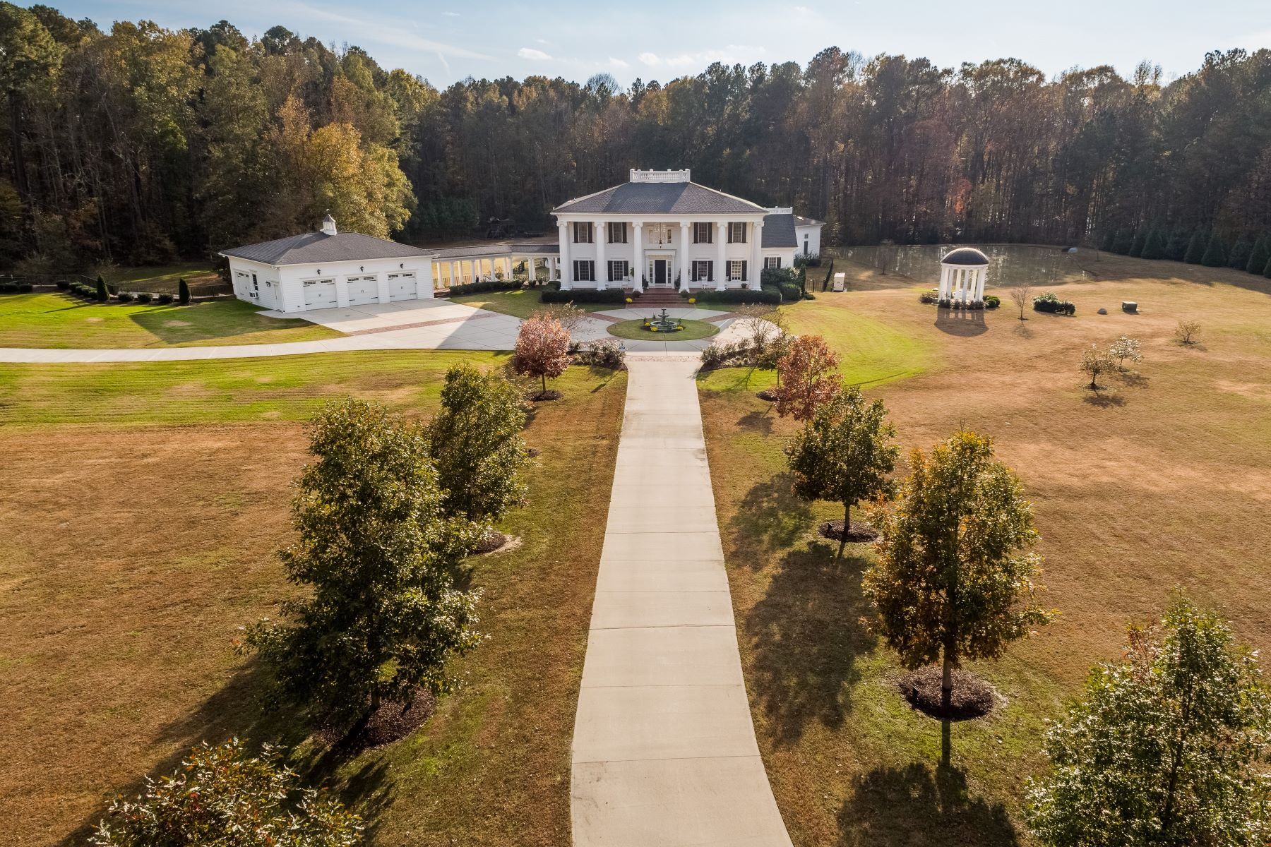 Single Family Home for Active at Quintessential Tennis Estate 3406 & 3326 Stagecoach Road Durham, North Carolina 27713 United States