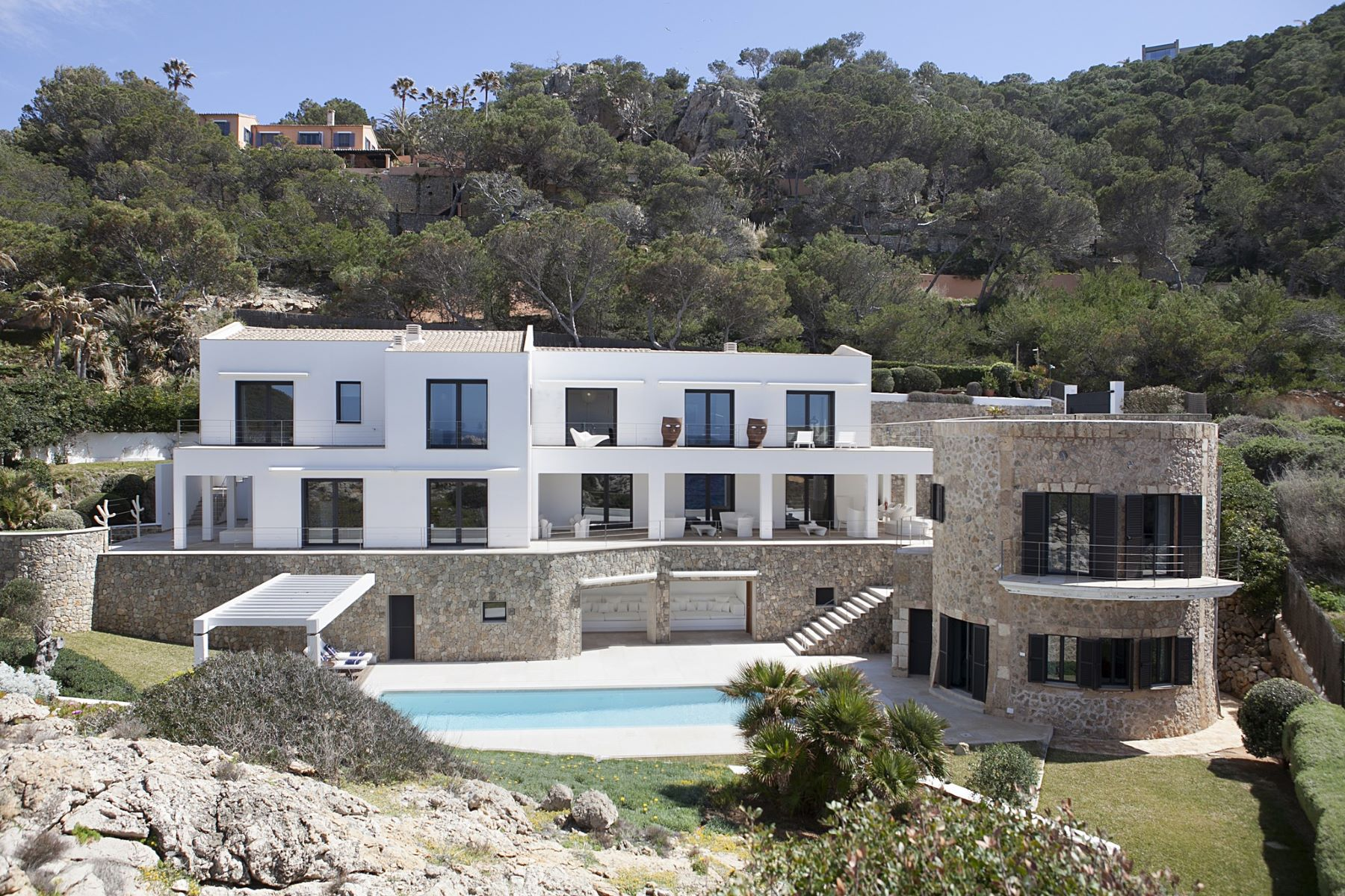 Single Family Homes for Sale at Sea front villa in Andratx Port d Andratx, Balearic Islands Spain