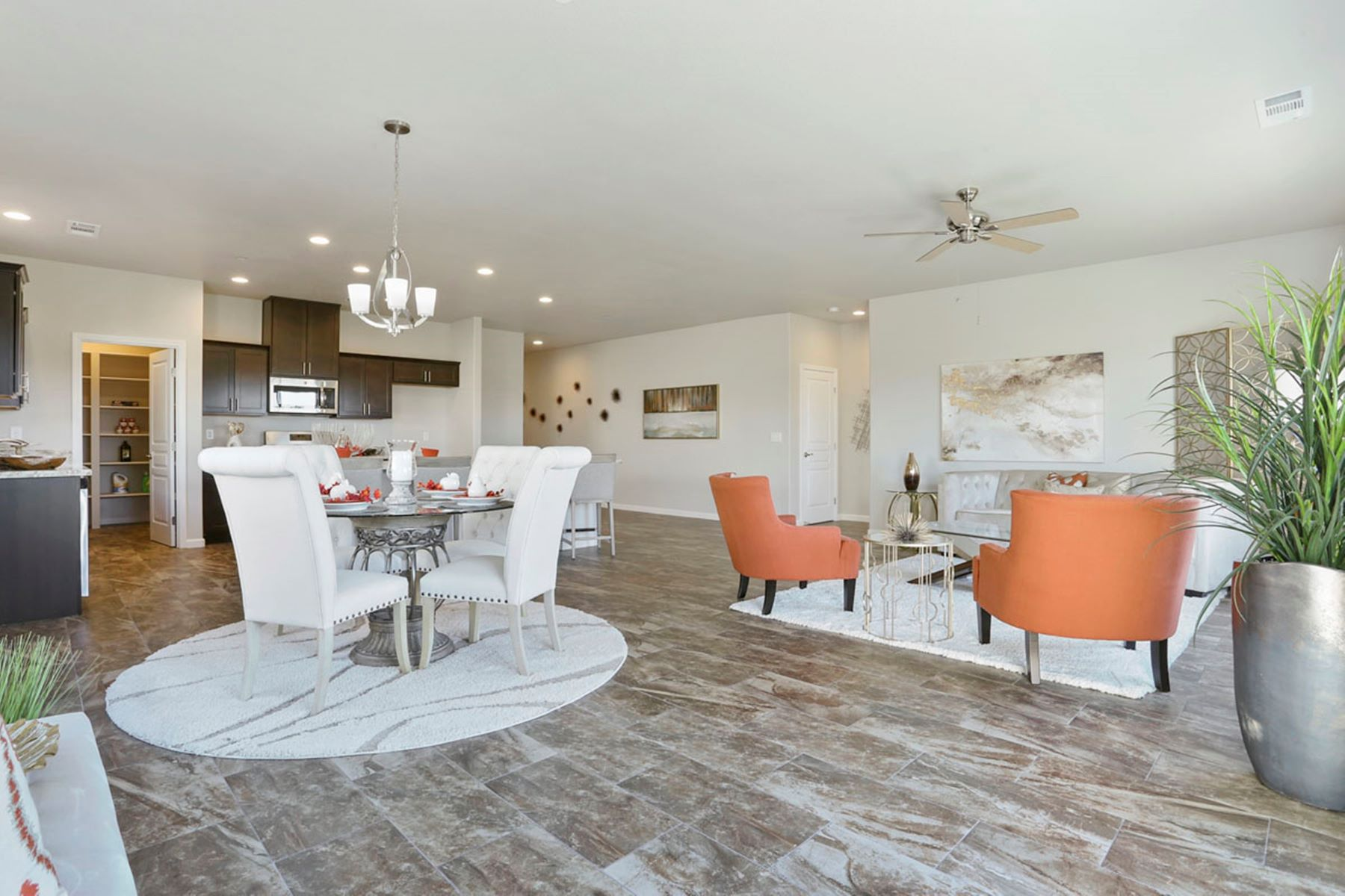 Single Family Homes for Sale at Brand New Home on the Street of Dreams 1766 Old Oak Drive Stockton, California 95206 United States