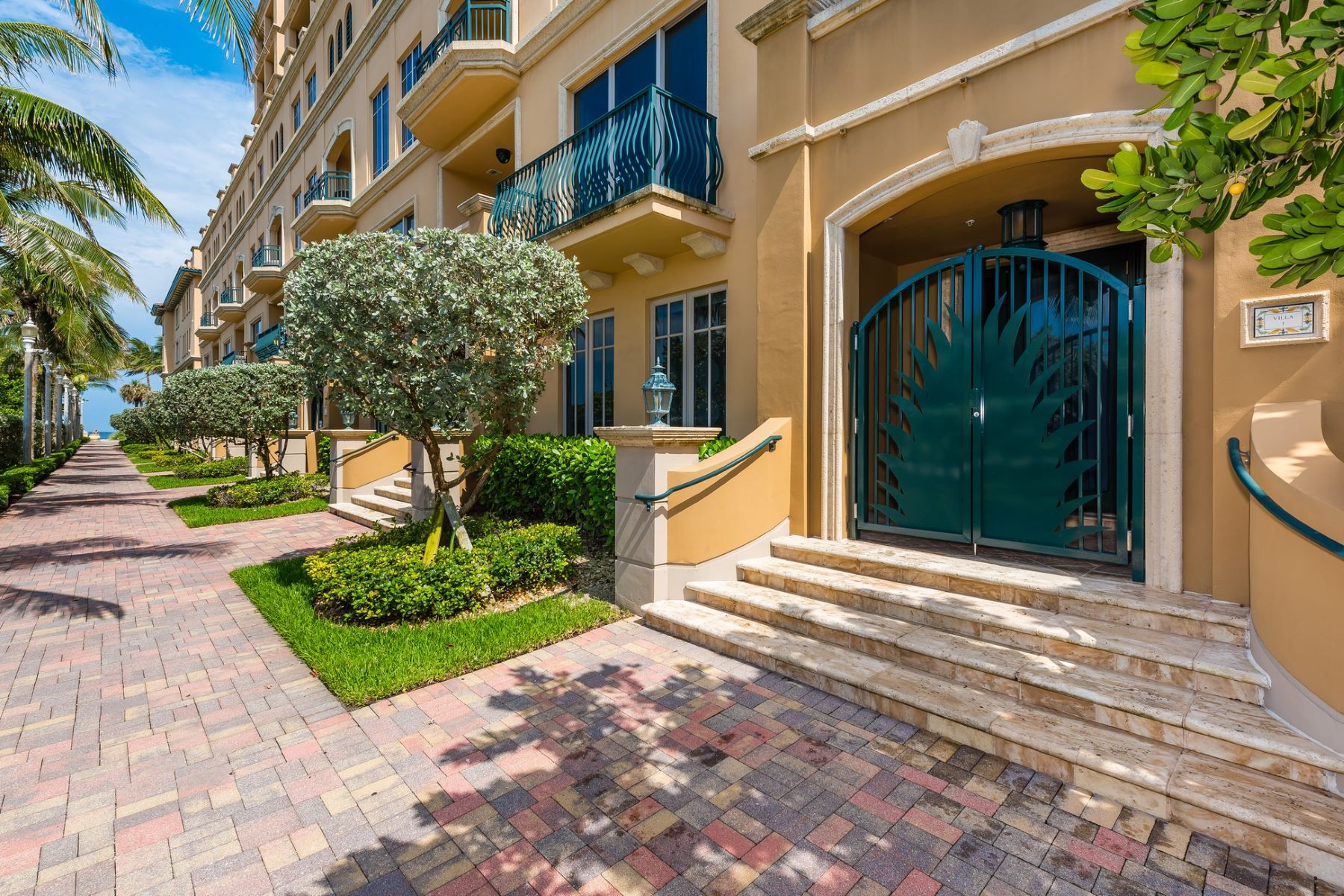 Condominium for Sale at 3501 N Ocean Dr. # V1 Hollywood, Florida 33019 United States