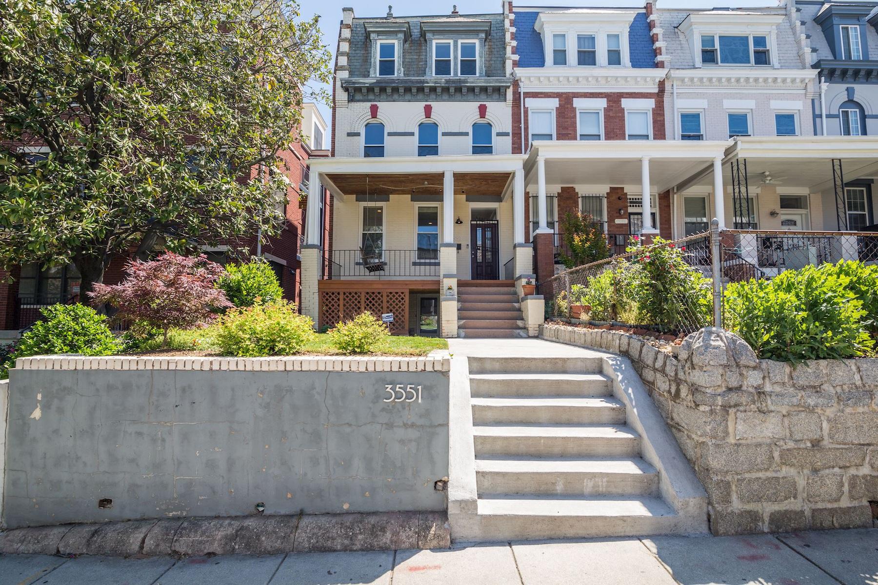Maison accolée pour l Vente à 3551 13th Street Nw, Washington Washington, District De Columbia, 20010 États-Unis