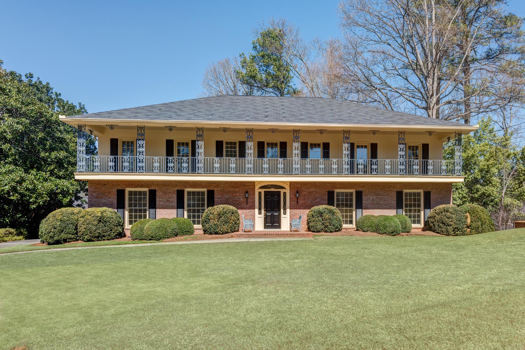 단독 가정 주택 용 매매 에 Louisiana Colonial Treasure 2800 Wendland Drive Atlanta, 조지아, 30345 미국