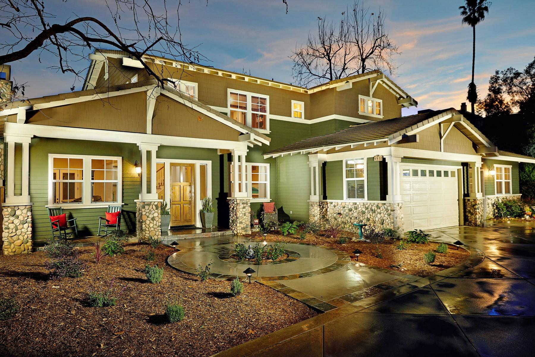 Частный односемейный дом для того Продажа на 1510 Gershwin Street Cardiff By The Sea, Калифорния 92007 Соединенные Штаты