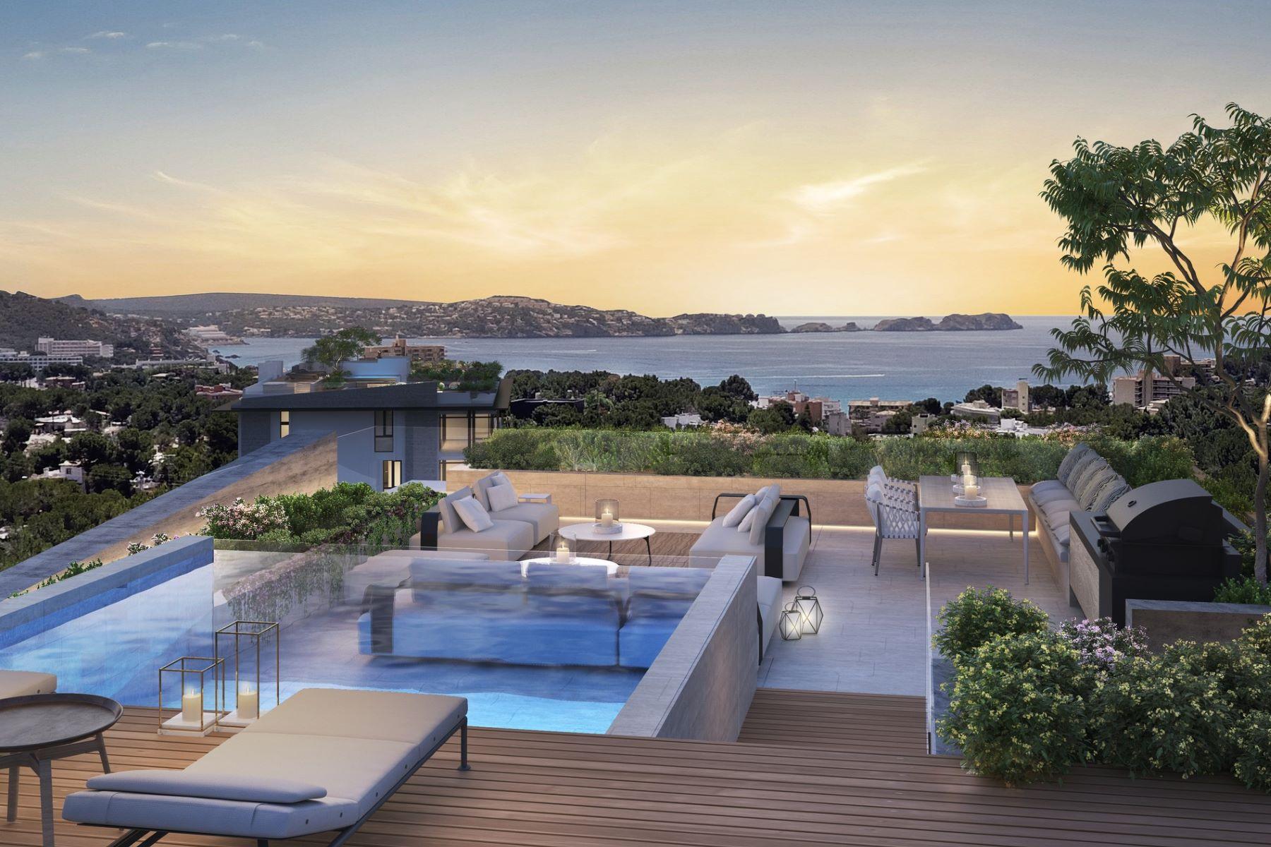 Tek Ailelik Ev için Satış at New apartments with terrace in luxury resort Other Balearic Islands, Balearic Islands, Ispanya