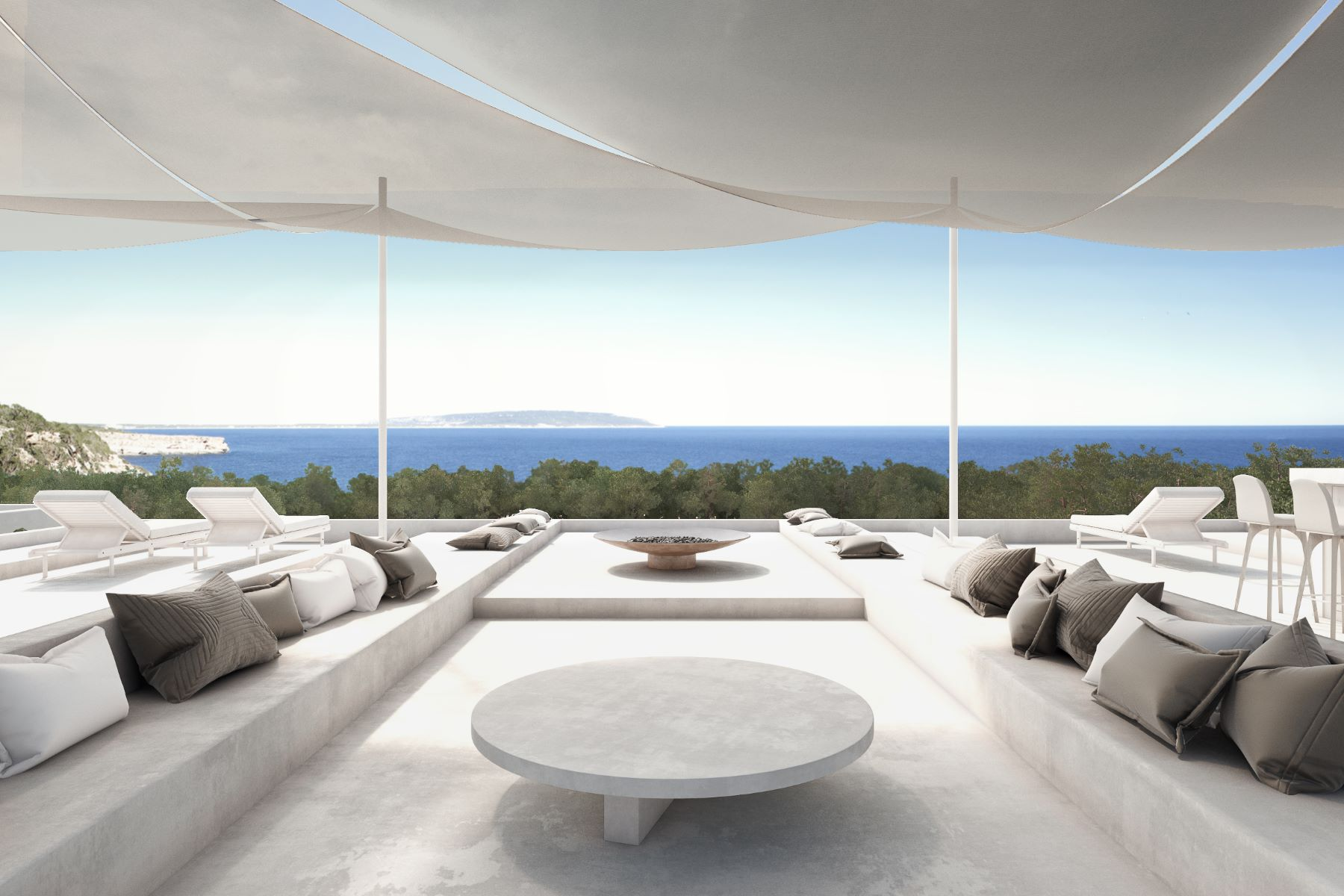 Single Family Homes for Sale at Modern Waterfront Home Project - Direct Sea View Formentera, Balearic Islands 07866 Spain