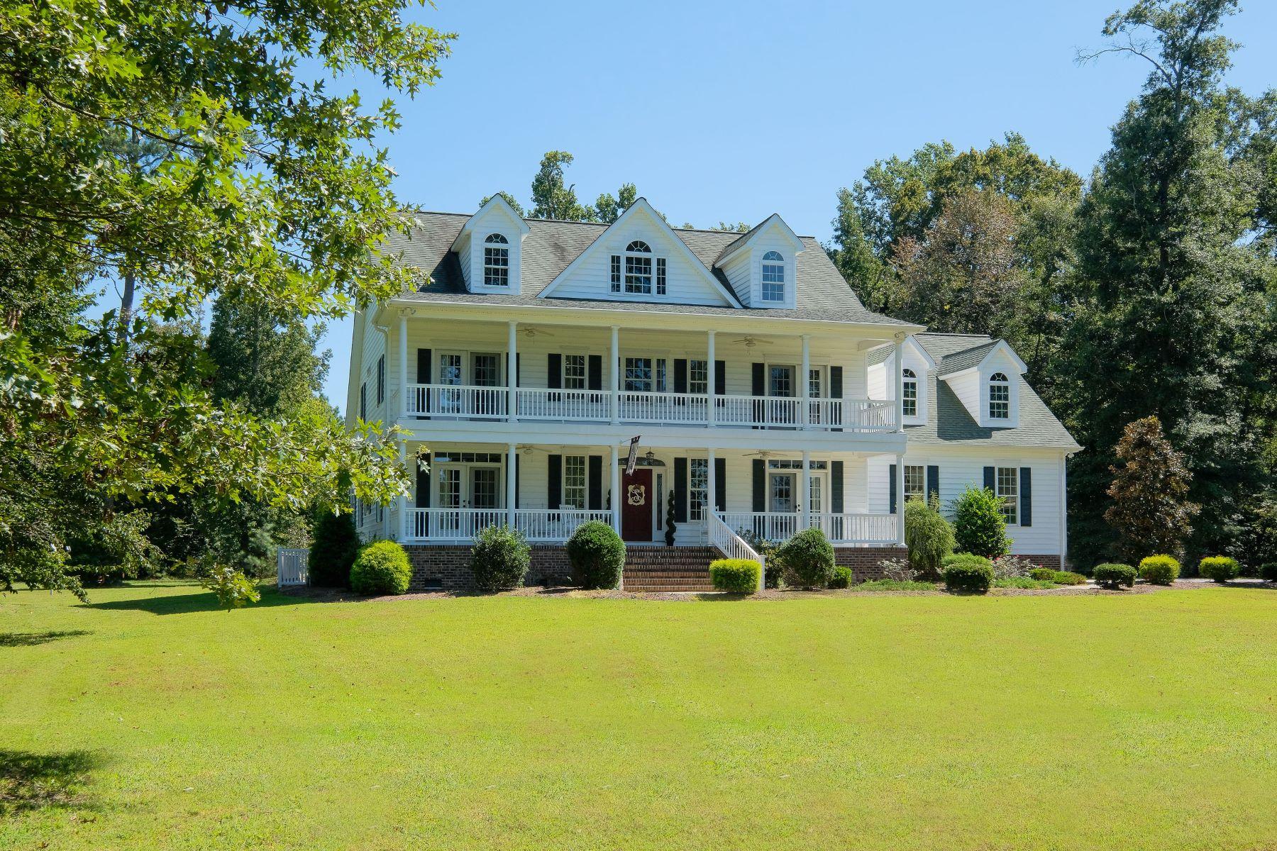 Maison unifamiliale pour l Vente à STUNNING CUSTOM HOME 229 Bay Pt Dr Edenton, Carolina Du Nord 27932 États-Unis