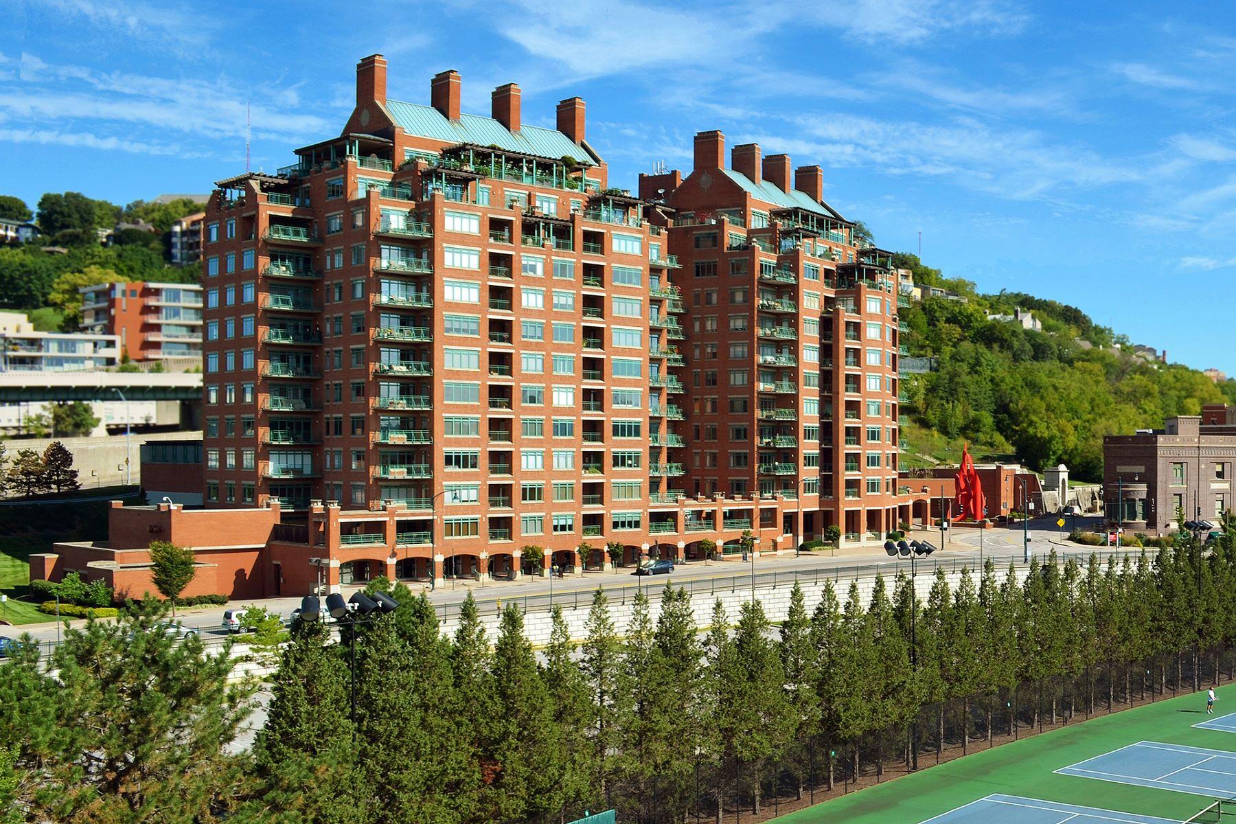 Appartement en copropriété pour l à vendre à Great City & River View 900 Adams Crossing Unit 8800, Cincinnati, Ohio, 45202 États-Unis