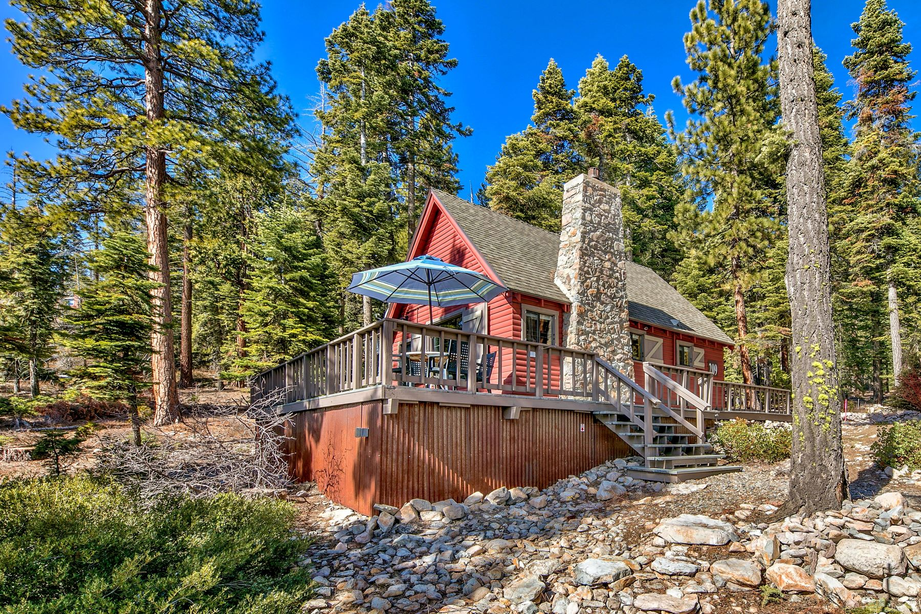 Single Family Homes for Active at Classic Vintage Cabin 209 Laurel Drive Tahoe Vista, California 96148 United States