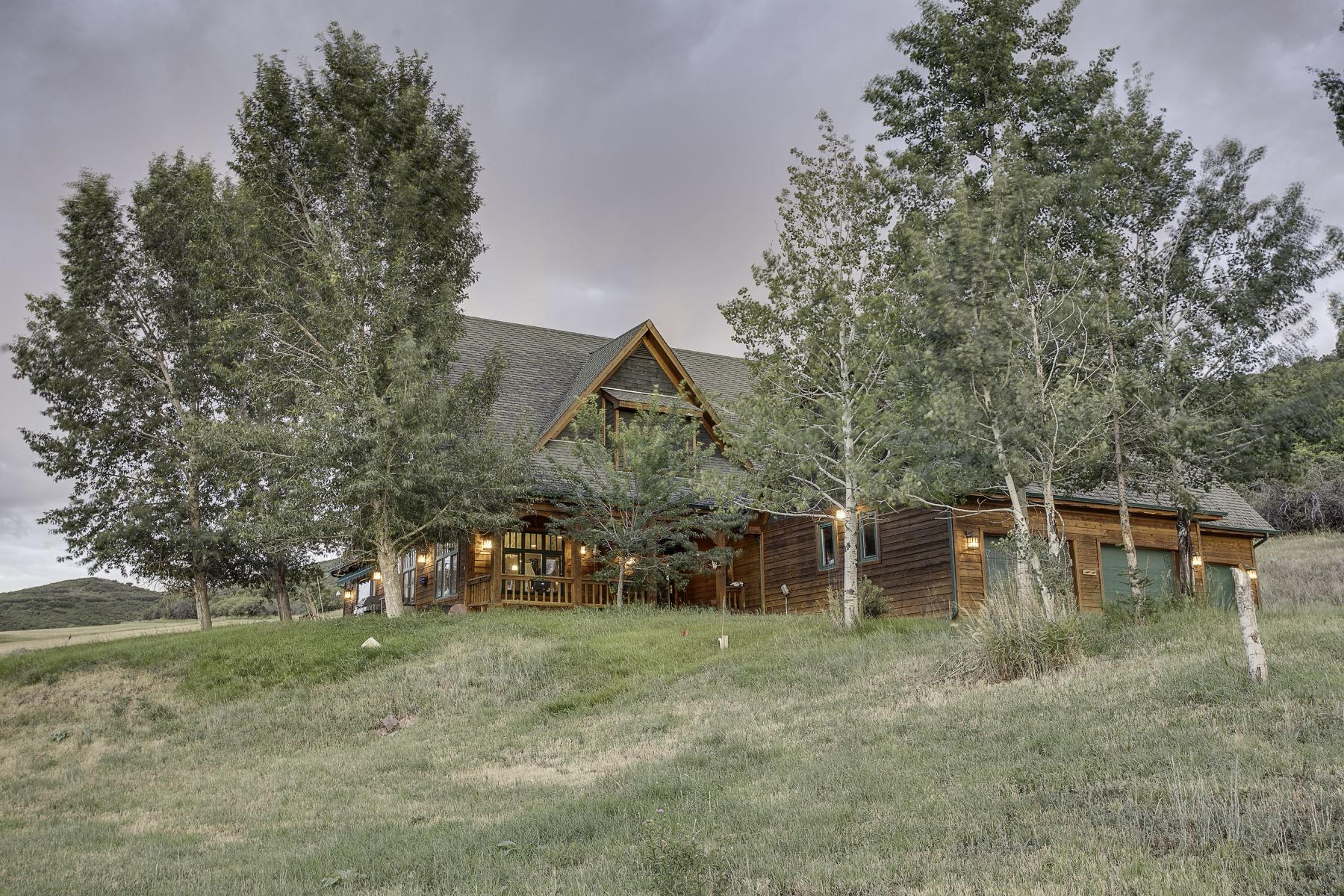 Single Family Home for Active at Faranhyll Ranch Custom Home on 35 Acres 0565 Faranhyll Ranch Road Glenwood Springs, Colorado 81601 United States