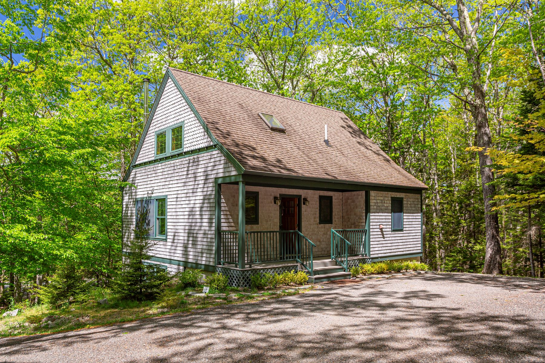 Single Family Homes for Active at The Trail House 343 Sound Drive Mount Desert, Maine 04660 United States