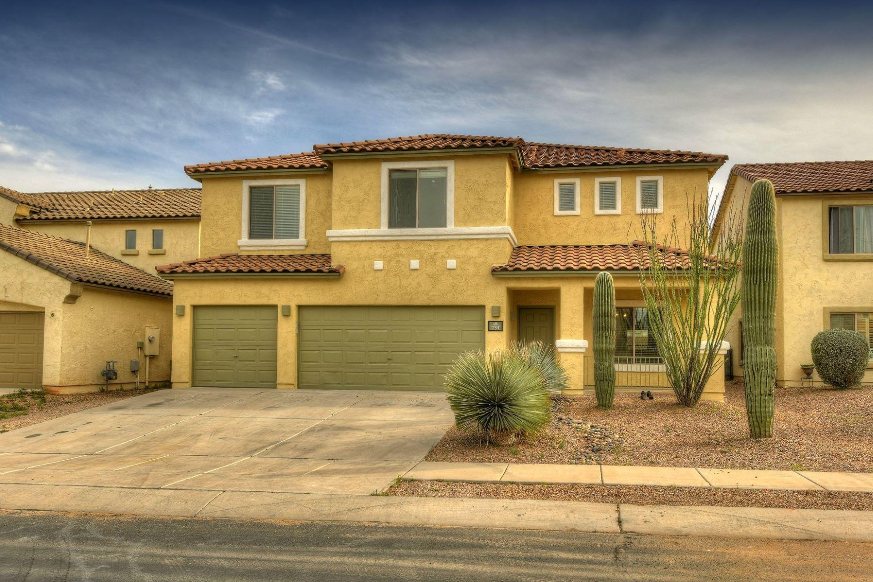 Single Family Homes 为 销售 在 Stunning Home with Family Room and Multi-Purpose Loft 791 W Vuelta Granadina 萨瓦里塔, 亚利桑那州 85629 美国